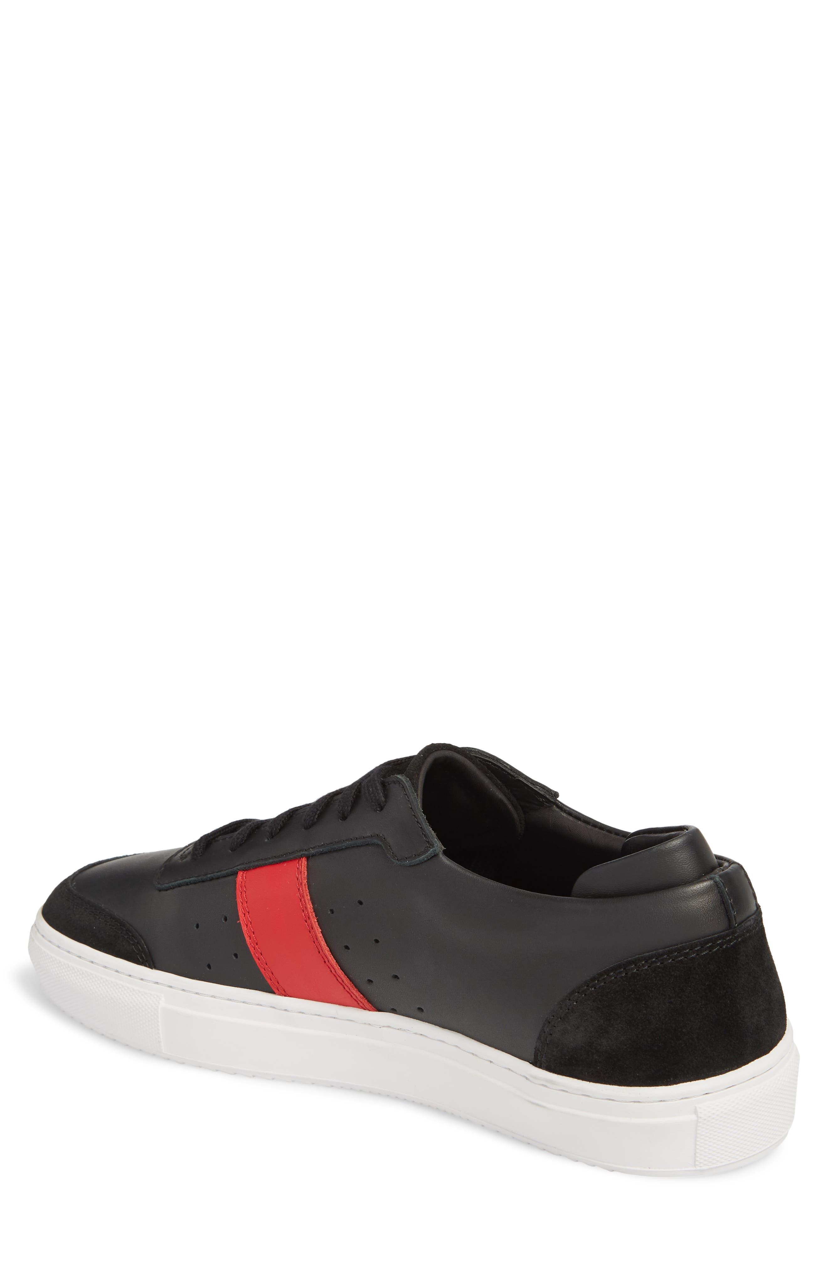 Dunk Sneaker,                             Alternate thumbnail 2, color,                             BLACK/ BLACK