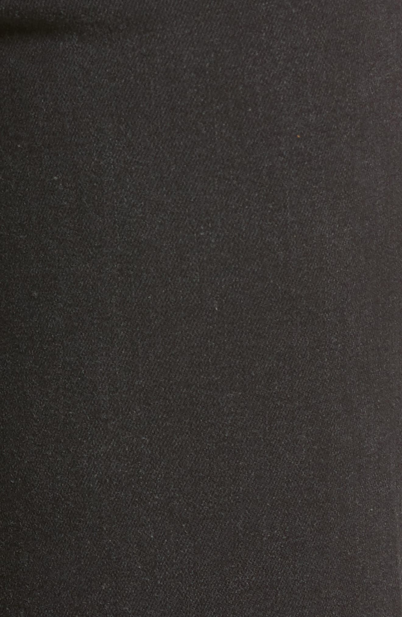 Transcend - Margot High Waist Crop Ultra Skinny Jeans,                             Alternate thumbnail 6, color,                             001