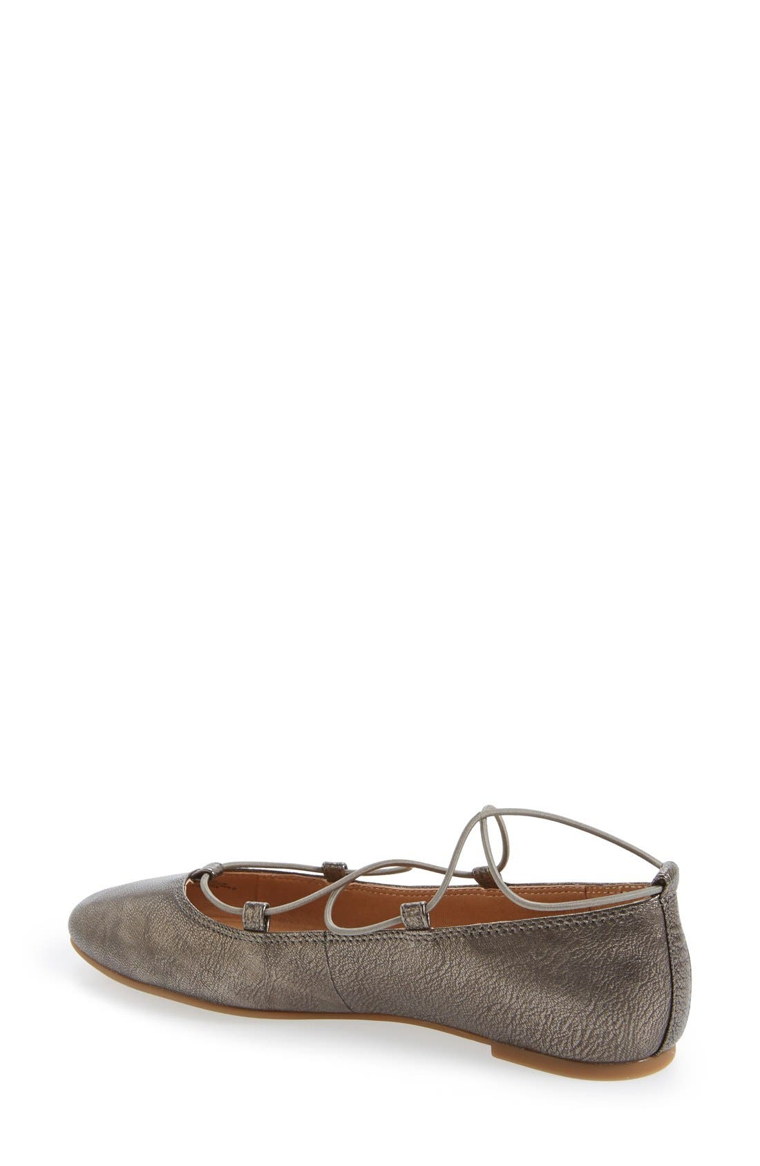 'Aviee' Lace-Up Flat,                             Alternate thumbnail 22, color,