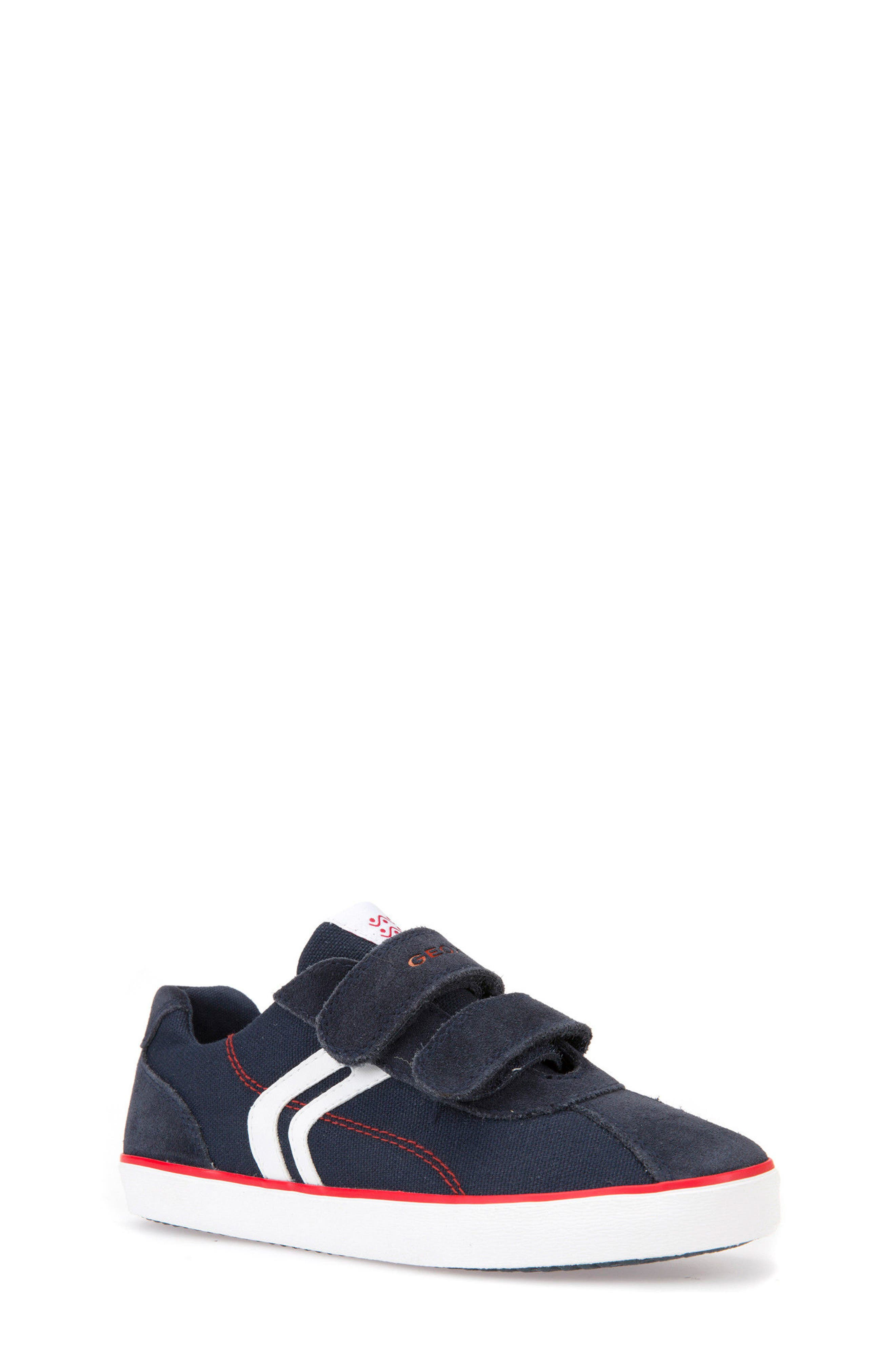 Kilwi Low Top Sneaker,                             Main thumbnail 1, color,                             NAVY/ RED