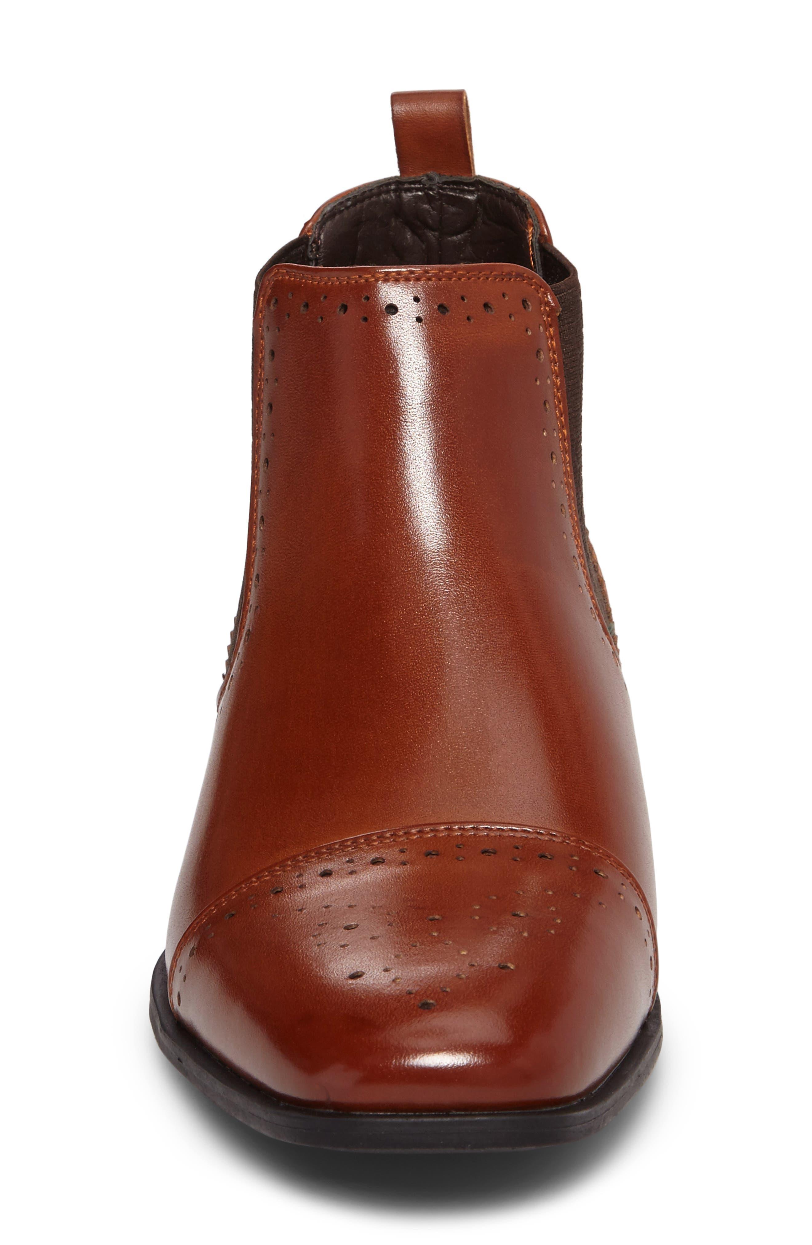 Alomar Cap Toe Chelsea Boot,                             Alternate thumbnail 8, color,