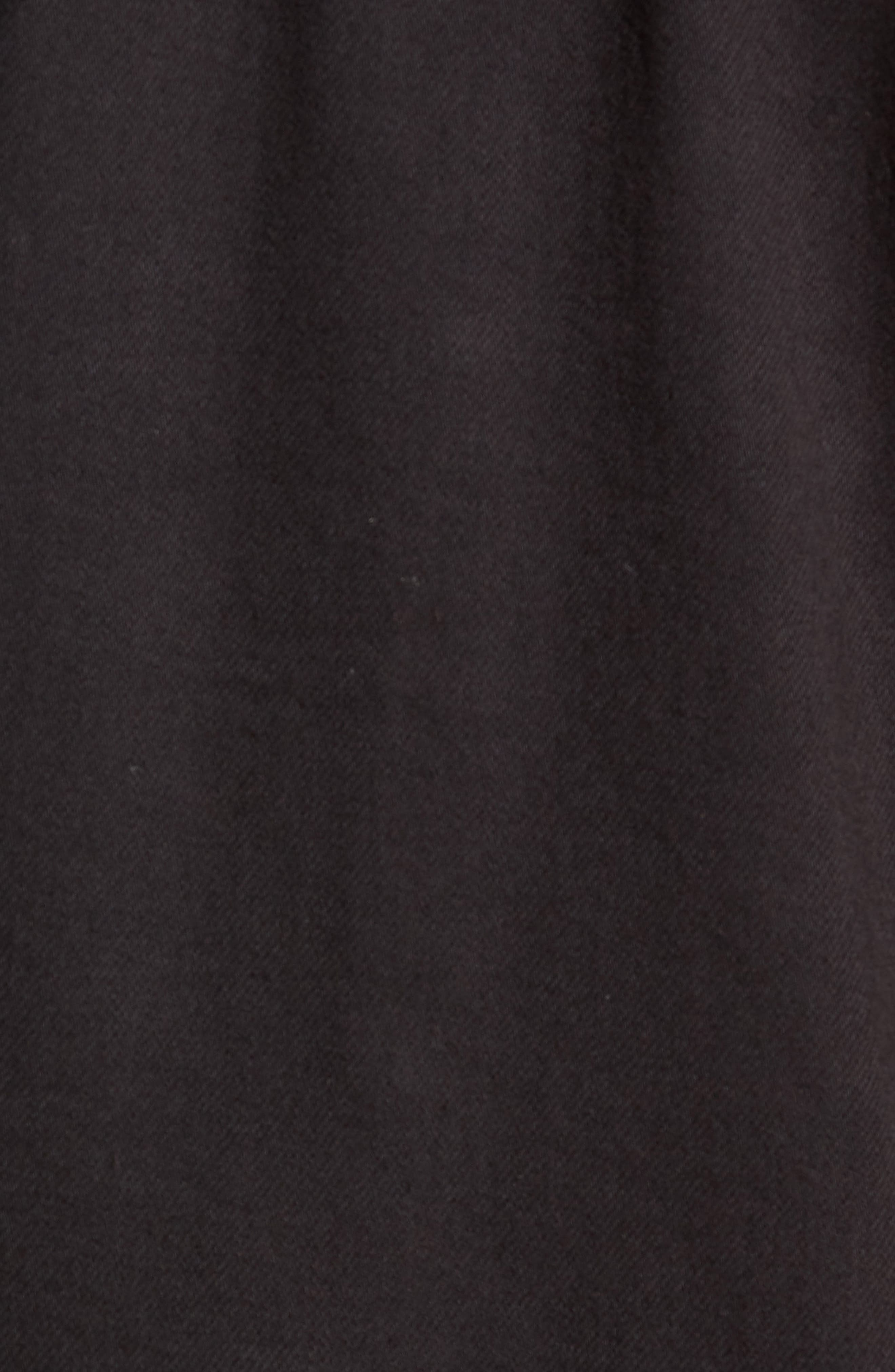 Scout Denim Jacket,                             Alternate thumbnail 7, color,                             VIVID BLACK COATED