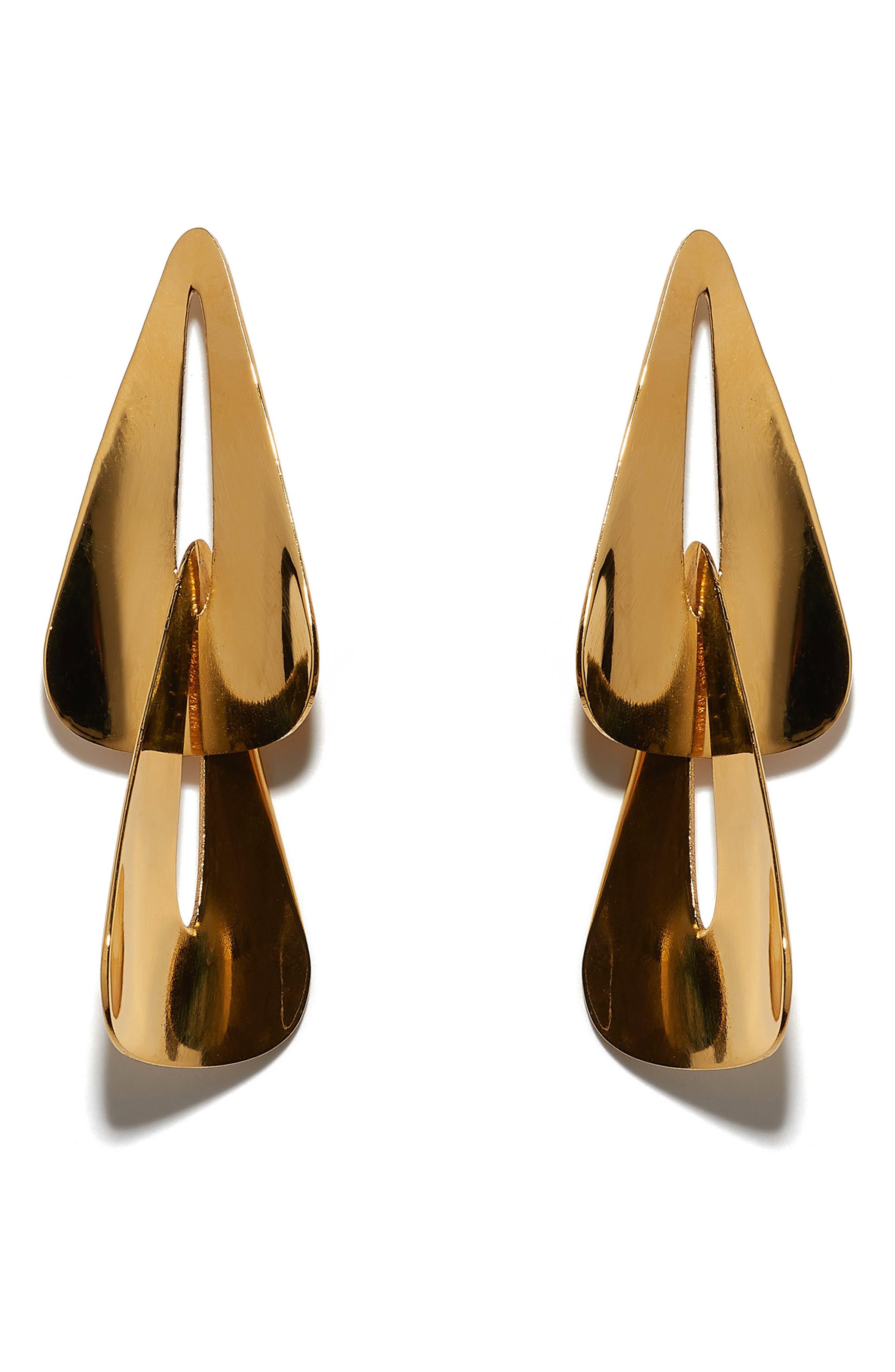Pendulum Earrings,                             Main thumbnail 1, color,                             GOLD