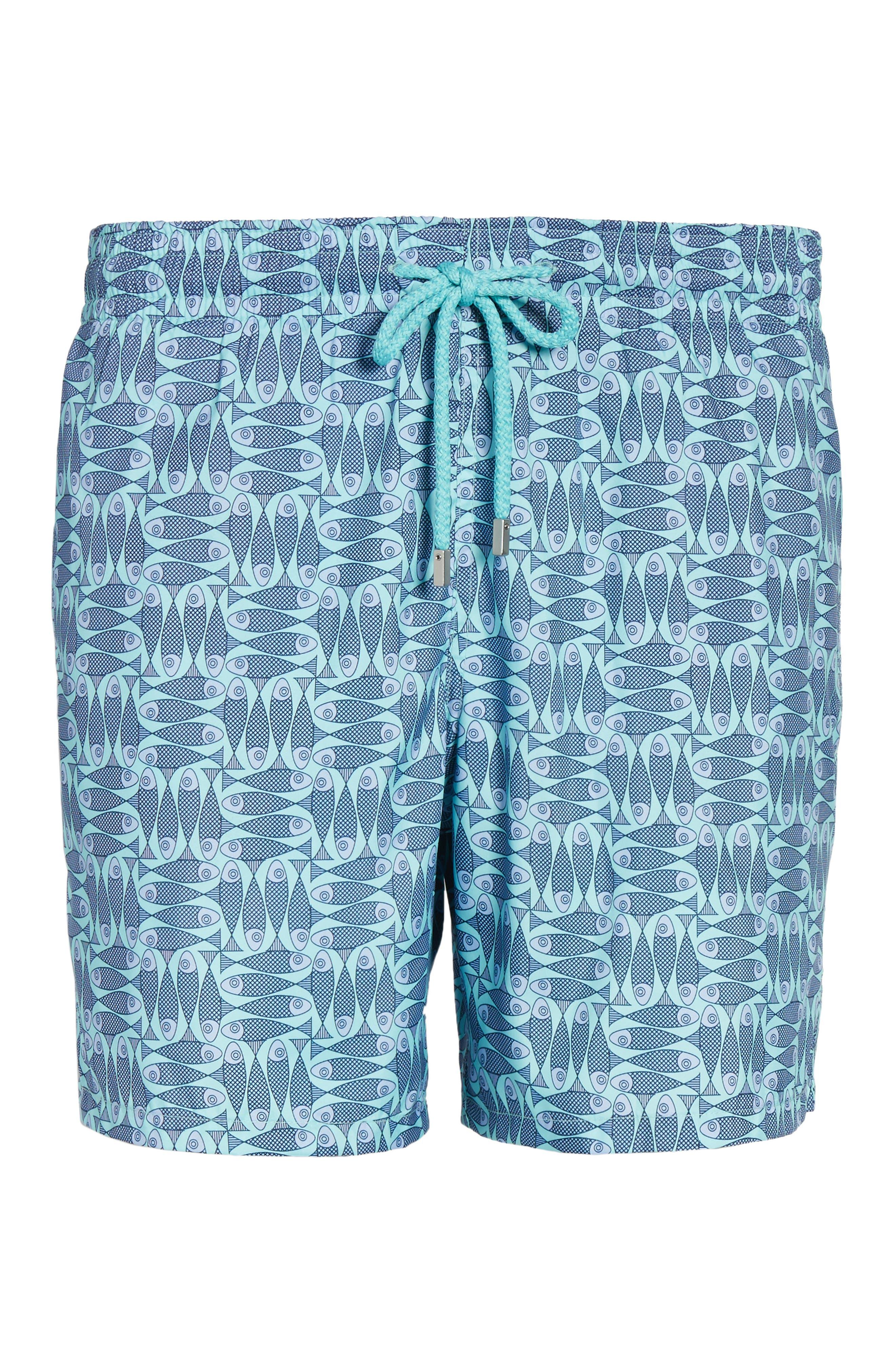 Mahina Packable Swim Trunks,                             Alternate thumbnail 6, color,