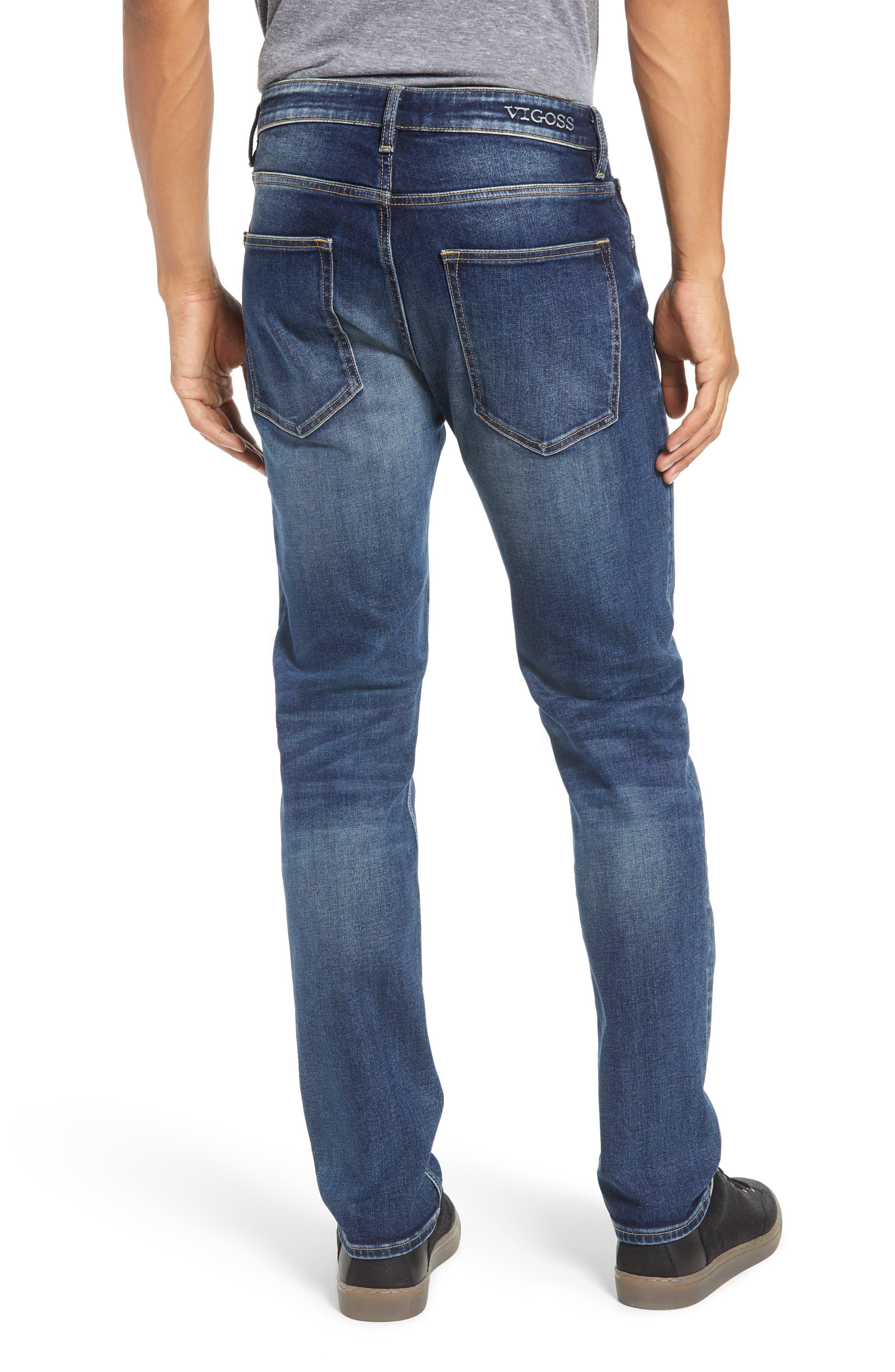 Slim Fit Jeans,                             Alternate thumbnail 2, color,                             PURE BLUE