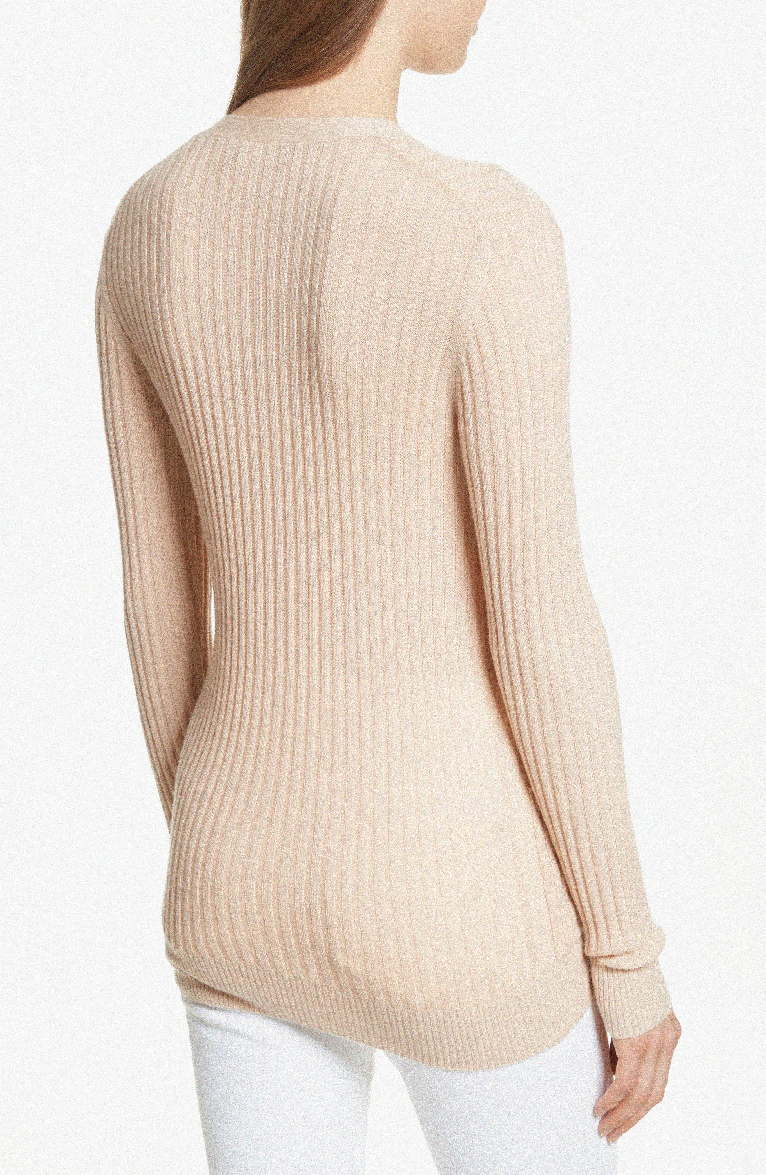Skinny Ribbed Cashmere Cardigan,                             Alternate thumbnail 2, color,                             298