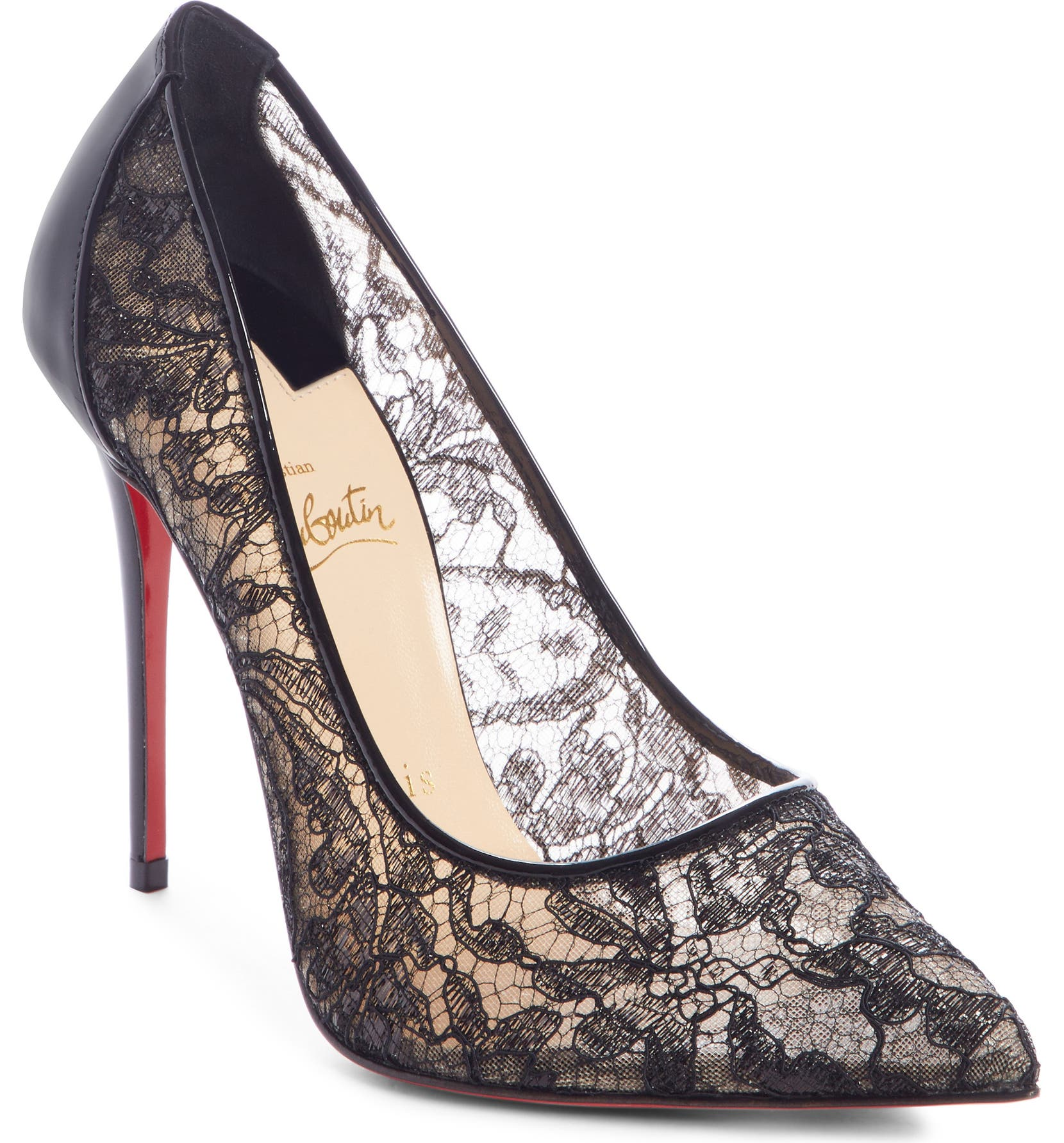 Christian Louboutin Follies Alençon Lace Pump (Women)  51744db1f