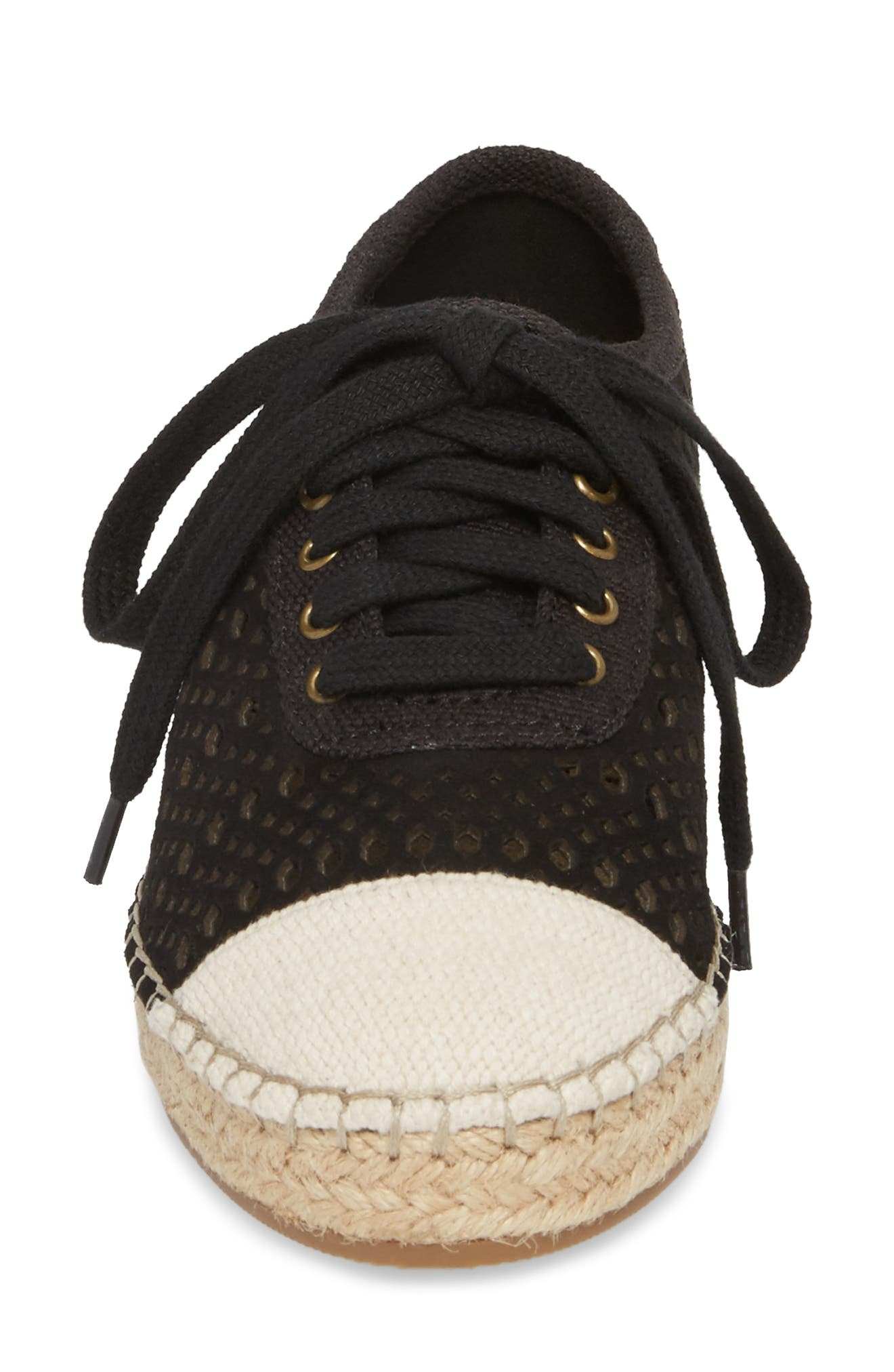 Clementine Espadrille Sneaker,                             Alternate thumbnail 4, color,                             018
