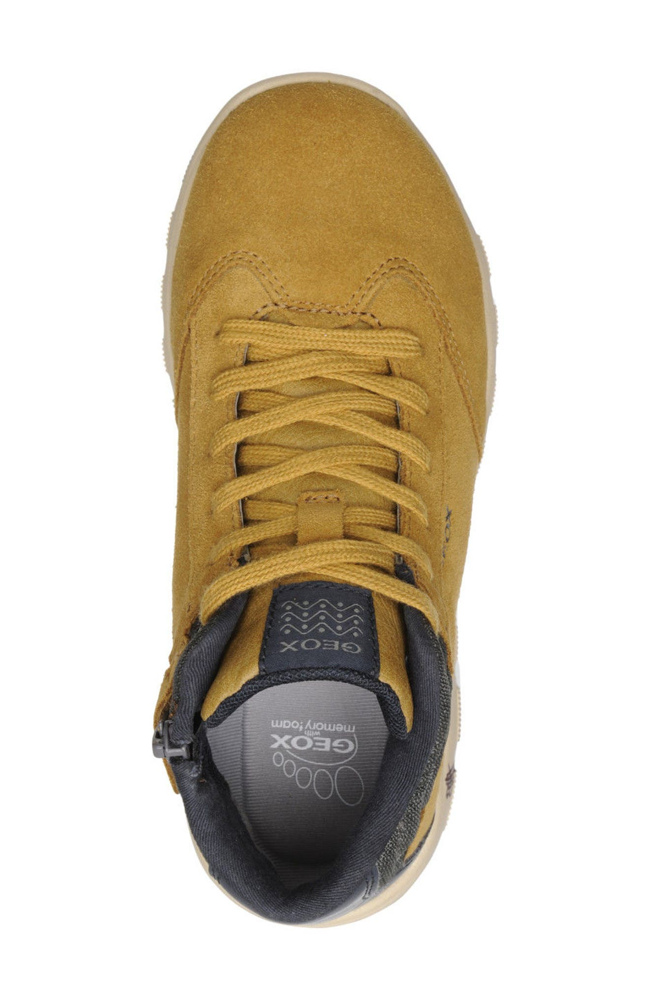 Xunday Mid Top Sneaker,                             Alternate thumbnail 4, color,                             020