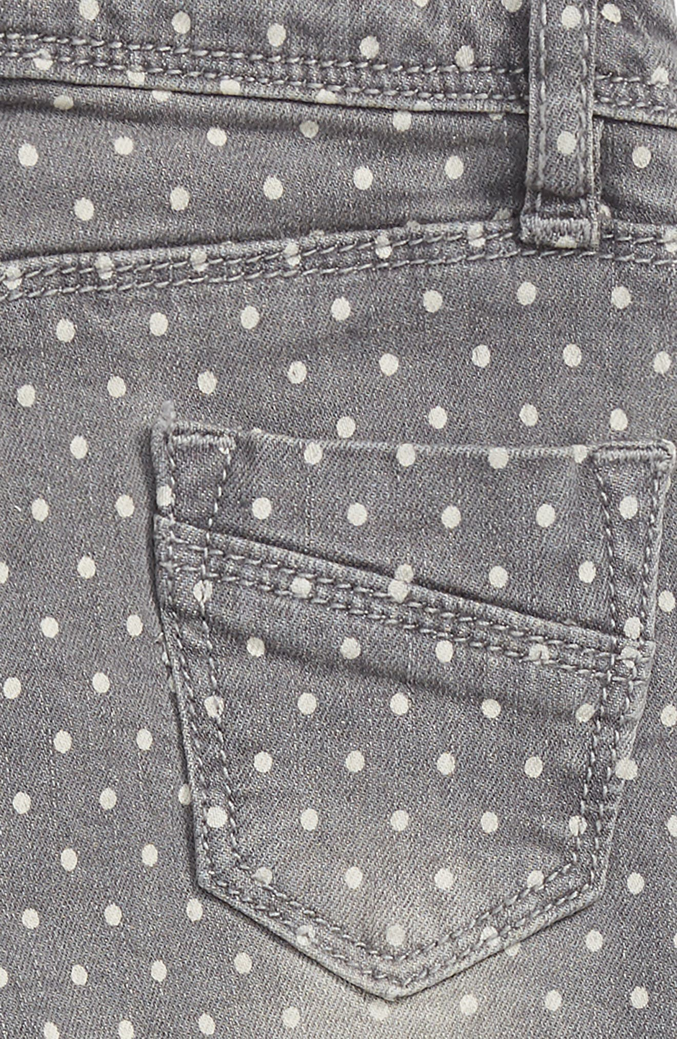 Taylor Dot Jeans,                             Alternate thumbnail 3, color,                             GREY