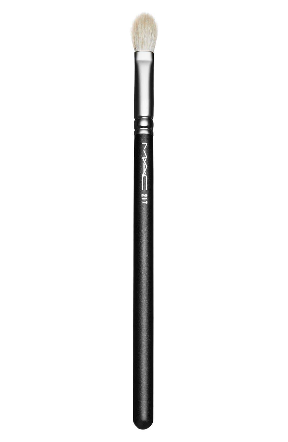 MAC 217 Blending Brush,                             Main thumbnail 1, color,                             000