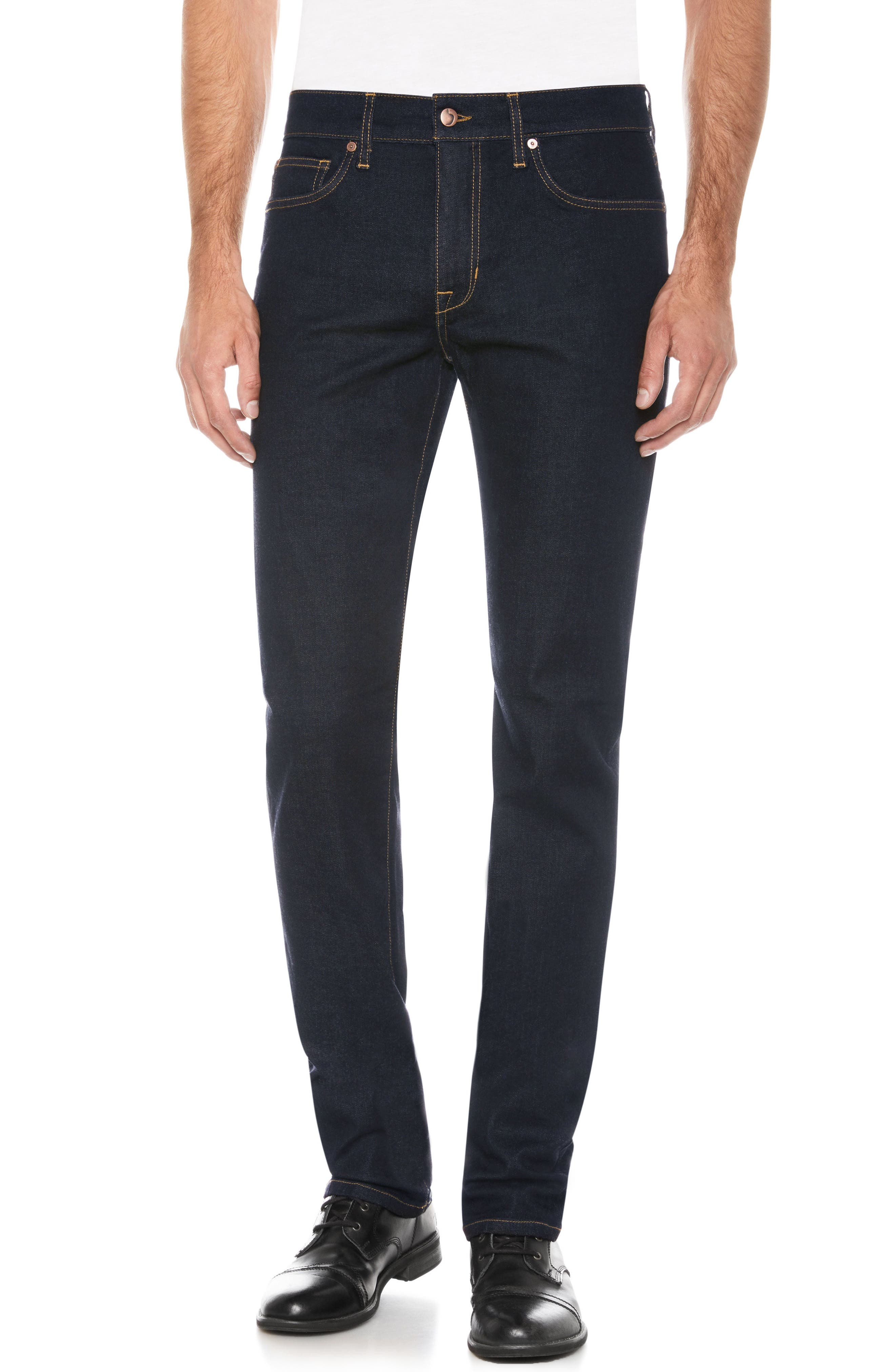 Brixton Slim Straight Fit Jeans,                             Main thumbnail 1, color,                             400