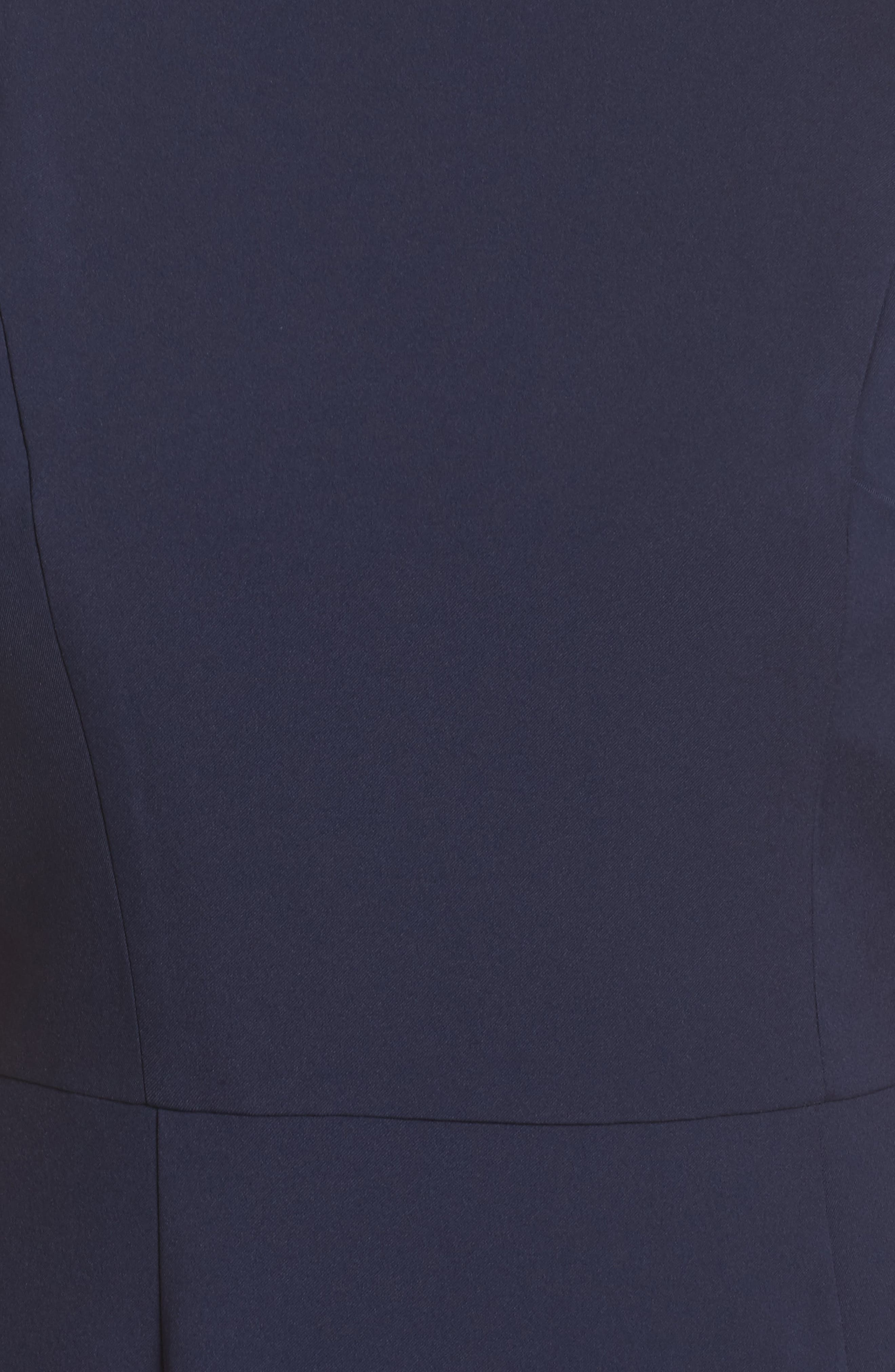 Jemima Ruffle Back Mermaid Gown,                             Alternate thumbnail 9, color,
