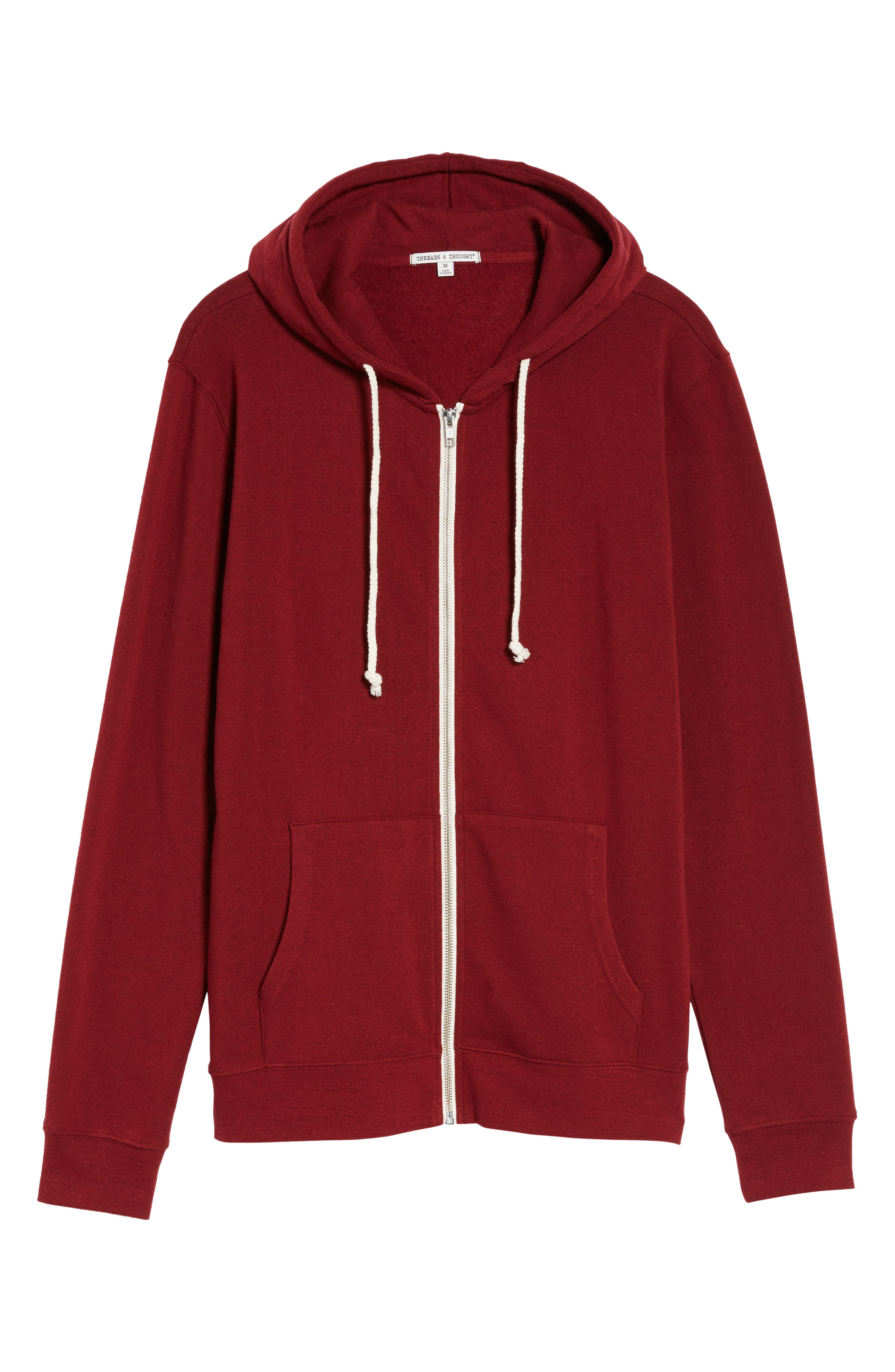 Threads for Thought Trim Fit Heathered Hoodie,                             Alternate thumbnail 59, color,