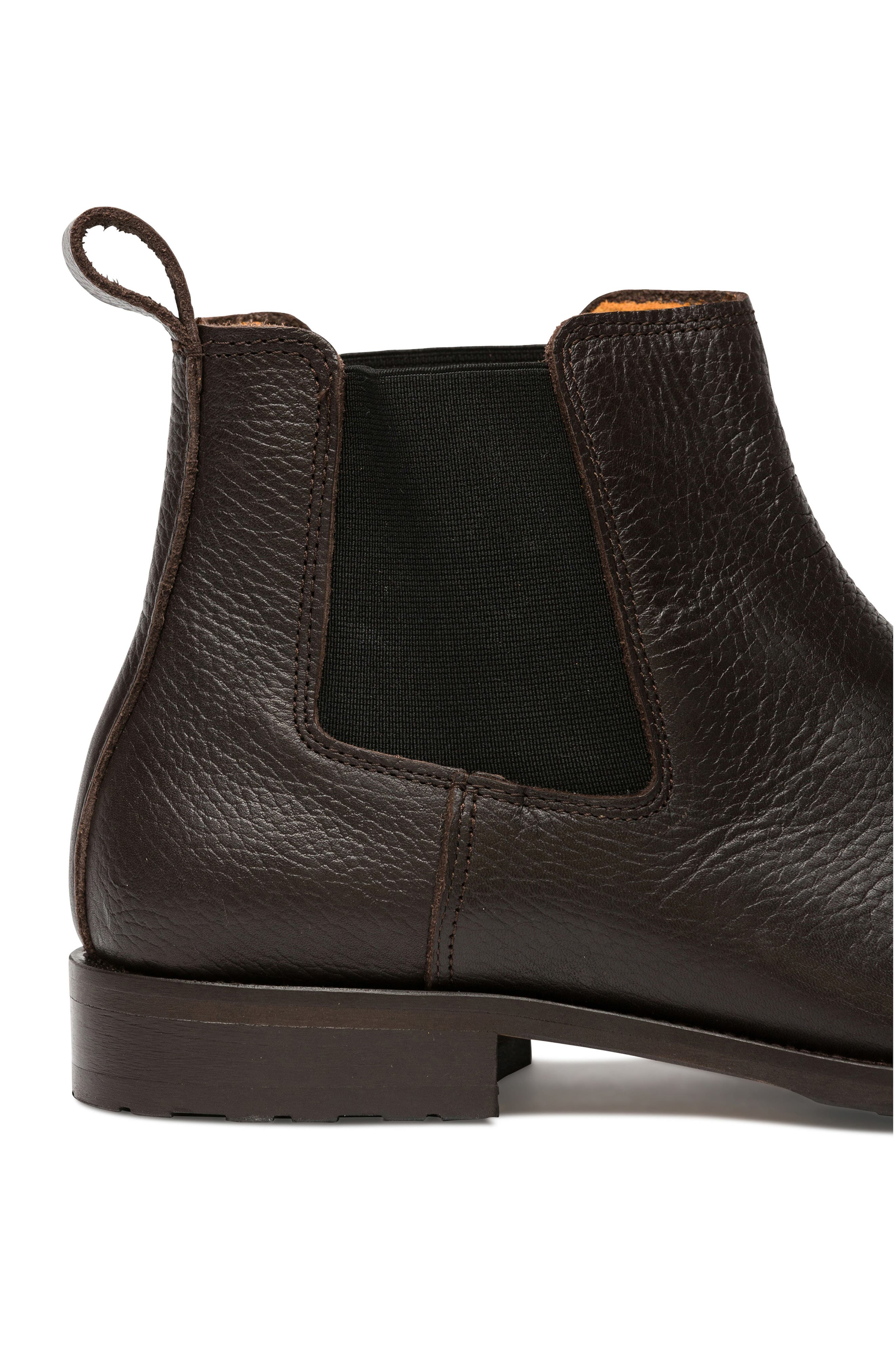Westholme Chelsea Boot,                             Alternate thumbnail 6, color,                             CHOCOLATE LEATHER