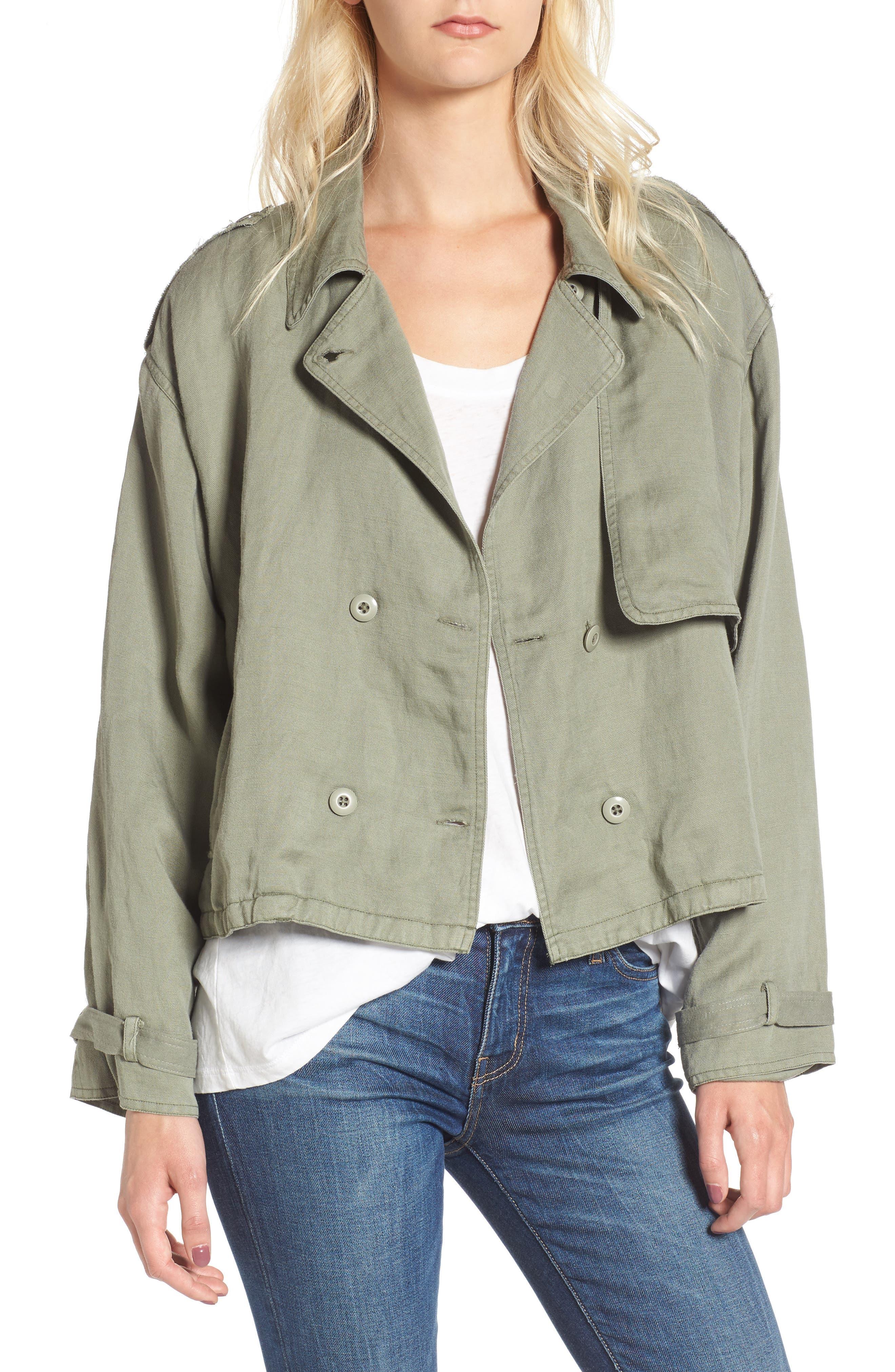 Barclay Crop Jacket,                             Main thumbnail 1, color,                             307