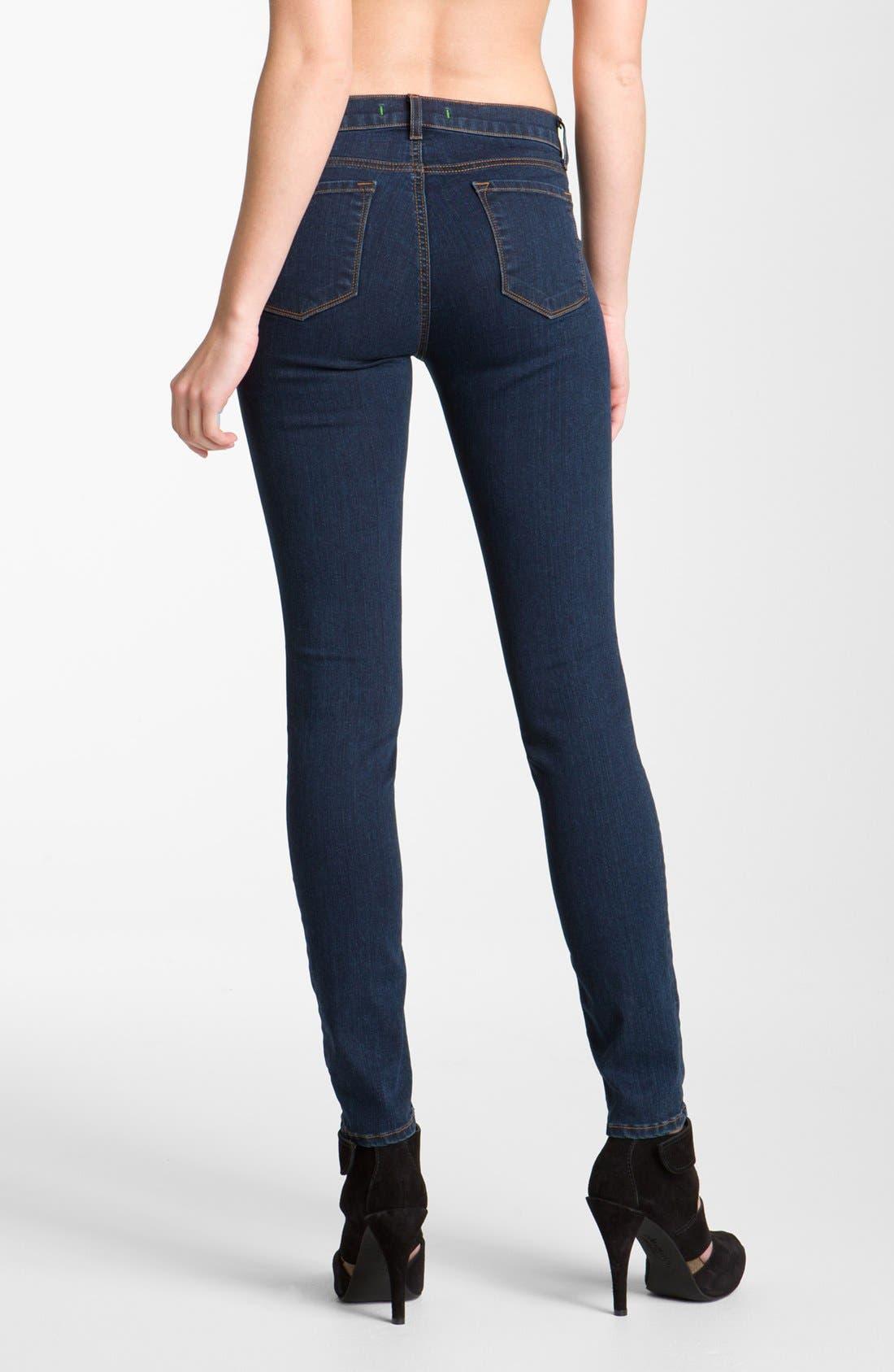 '811' Ankle Skinny Jeans,                             Alternate thumbnail 24, color,
