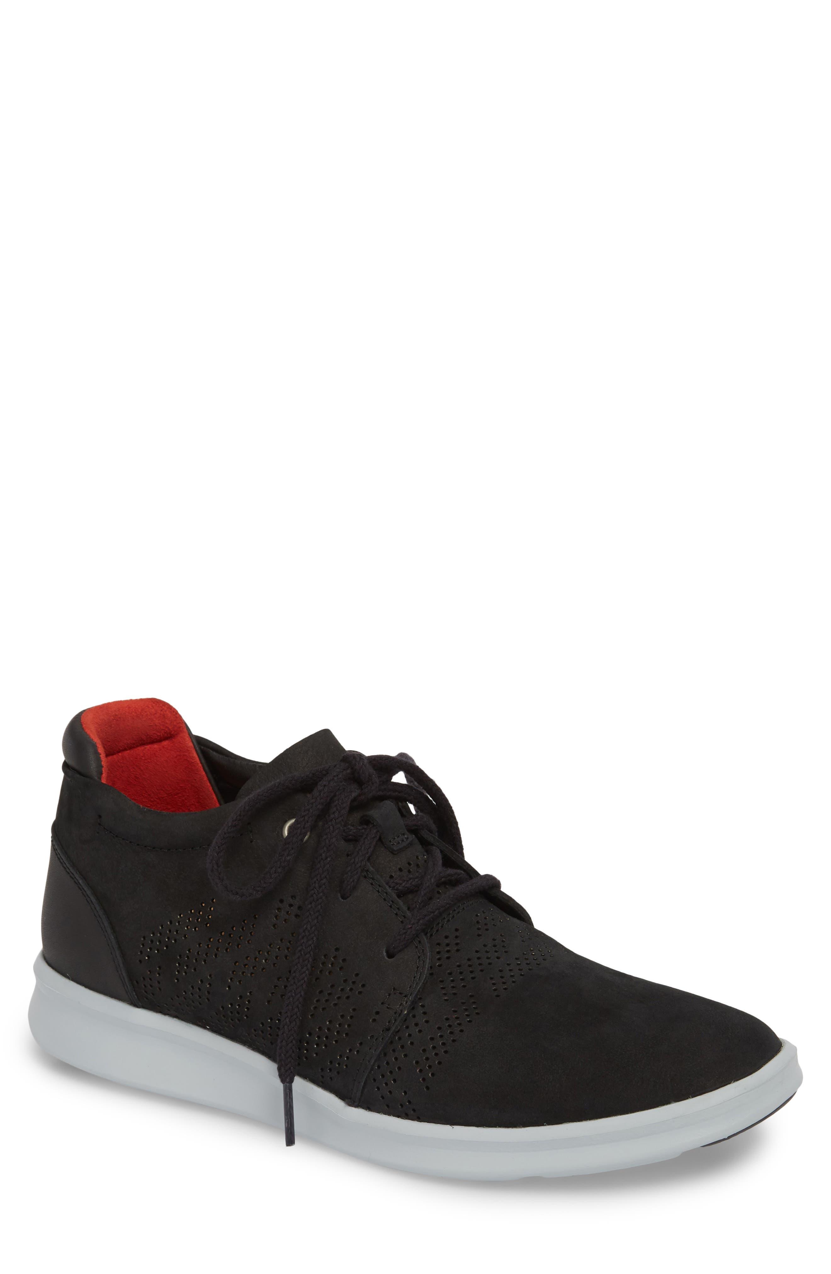 UGG<SUP>®</SUP>,                             Larken Chukka Sneaker,                             Main thumbnail 1, color,                             001