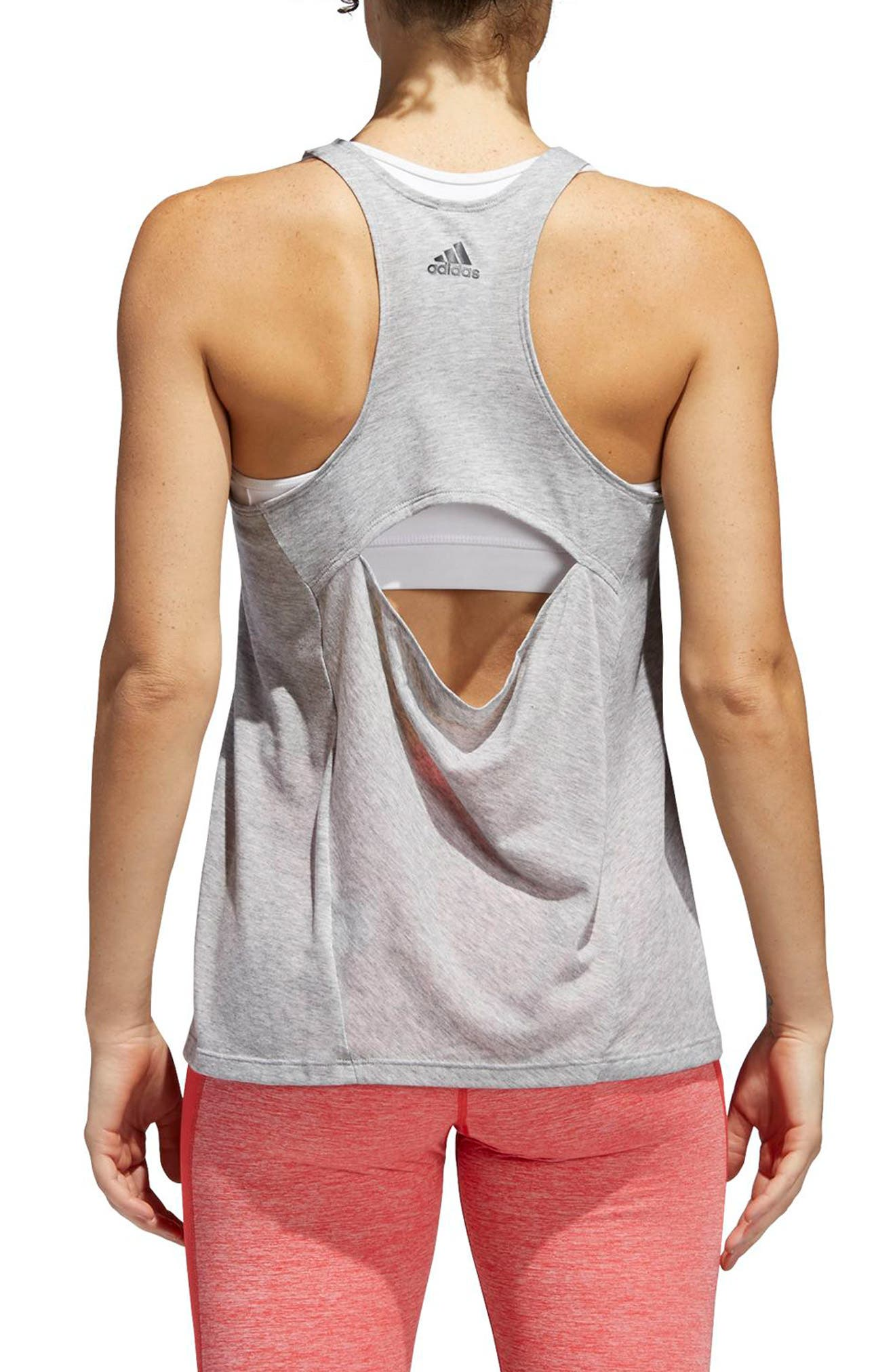 Performer Open Back Tank,                             Alternate thumbnail 5, color,