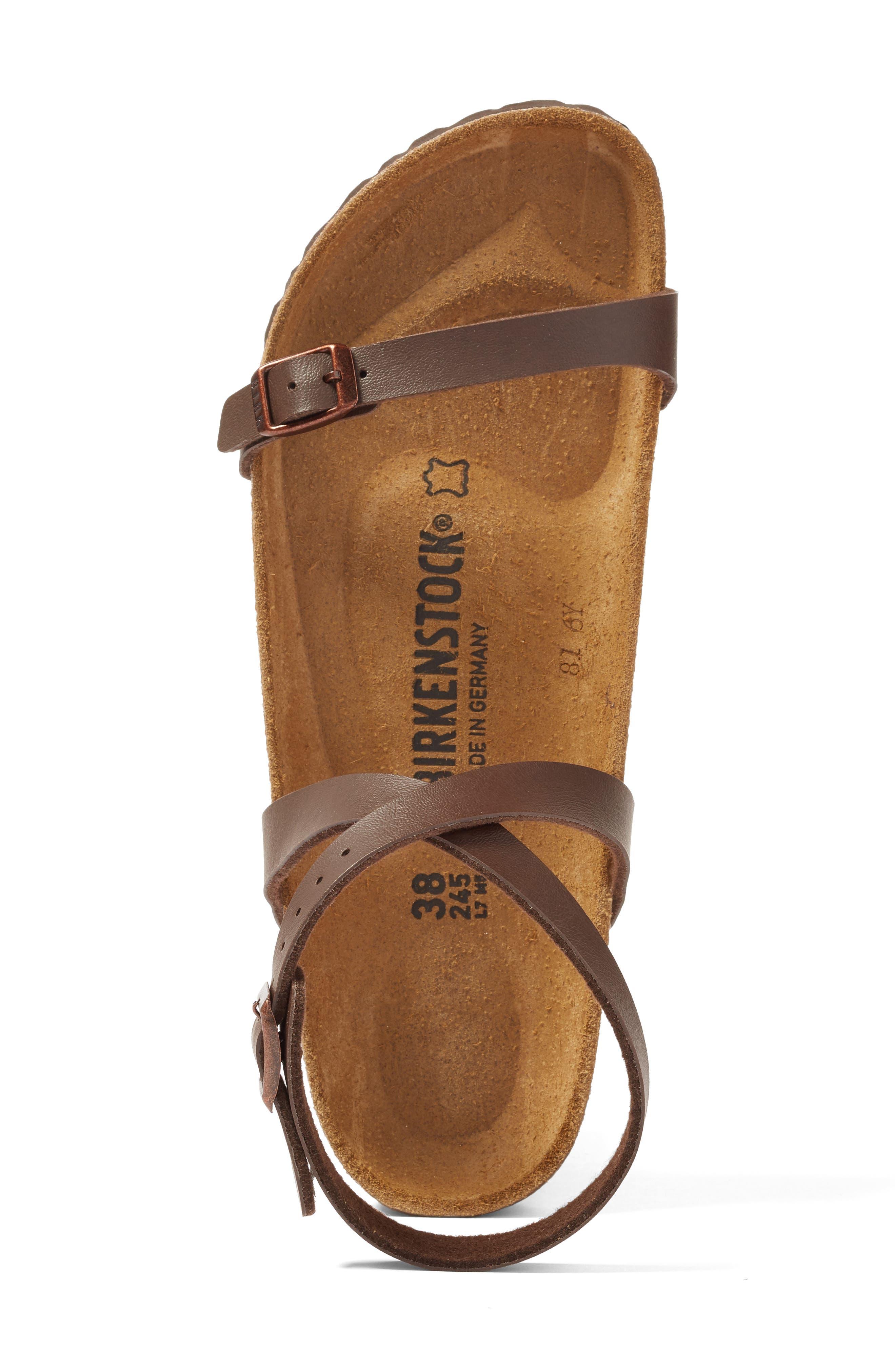 Daloa Ankle Strap Sandal,                             Alternate thumbnail 3, color,                             MOCHA