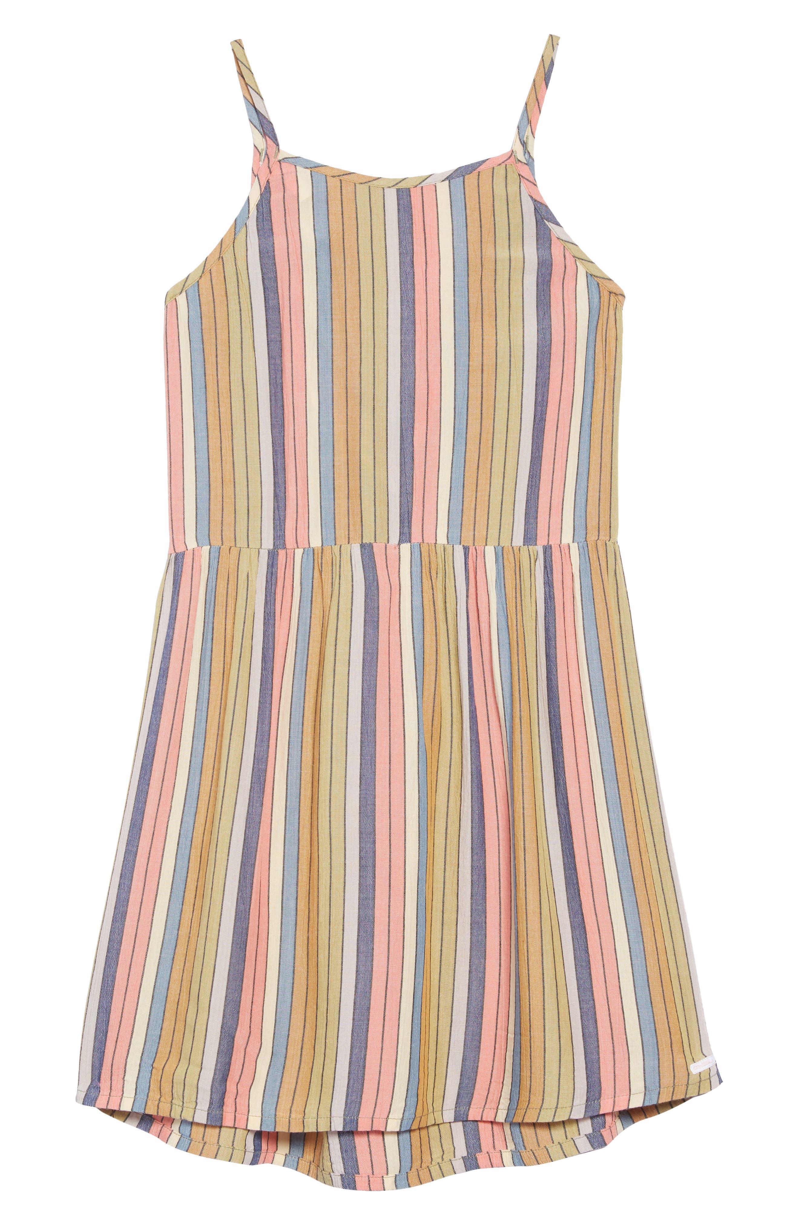 O'NEILL,                             Berlin Stripe Sundress,                             Main thumbnail 1, color,                             MULTI COLORED