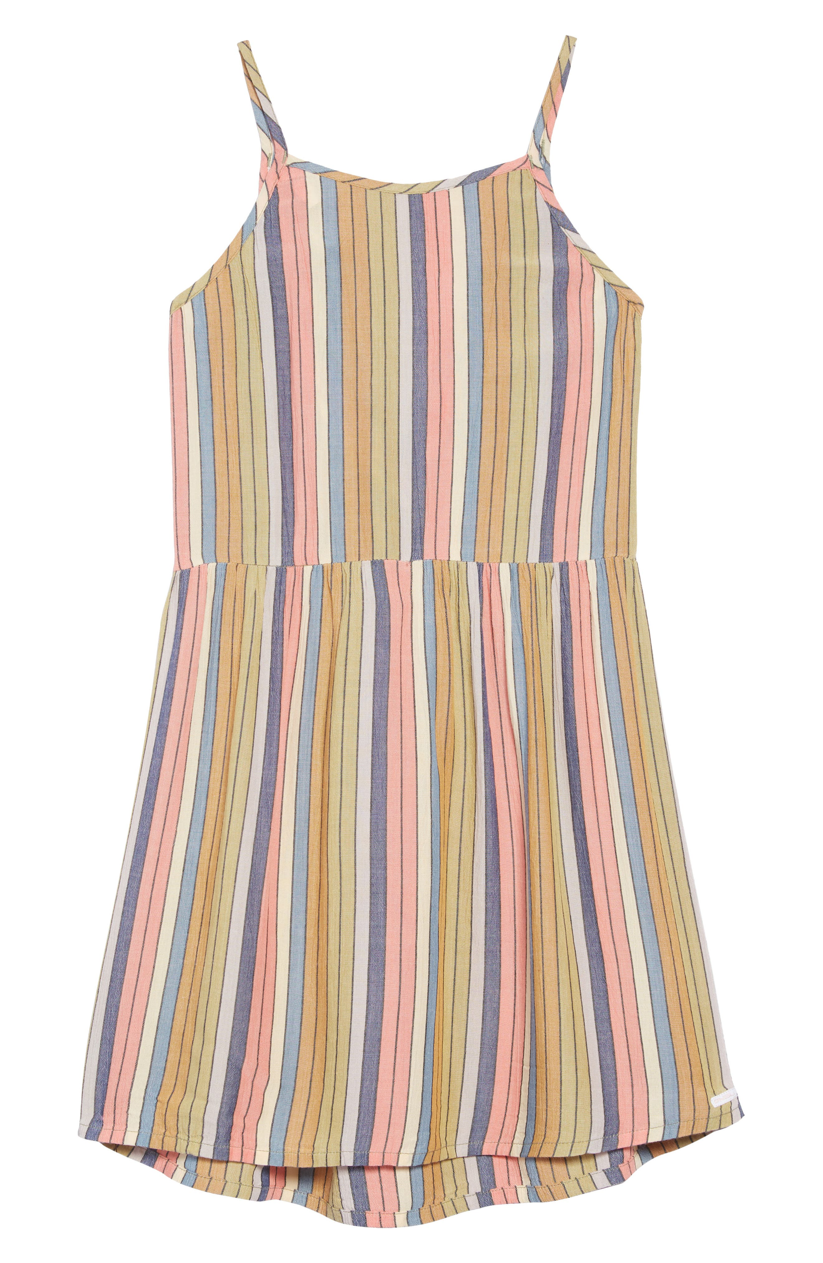 O'NEILL Berlin Stripe Sundress, Main, color, MULTI COLORED