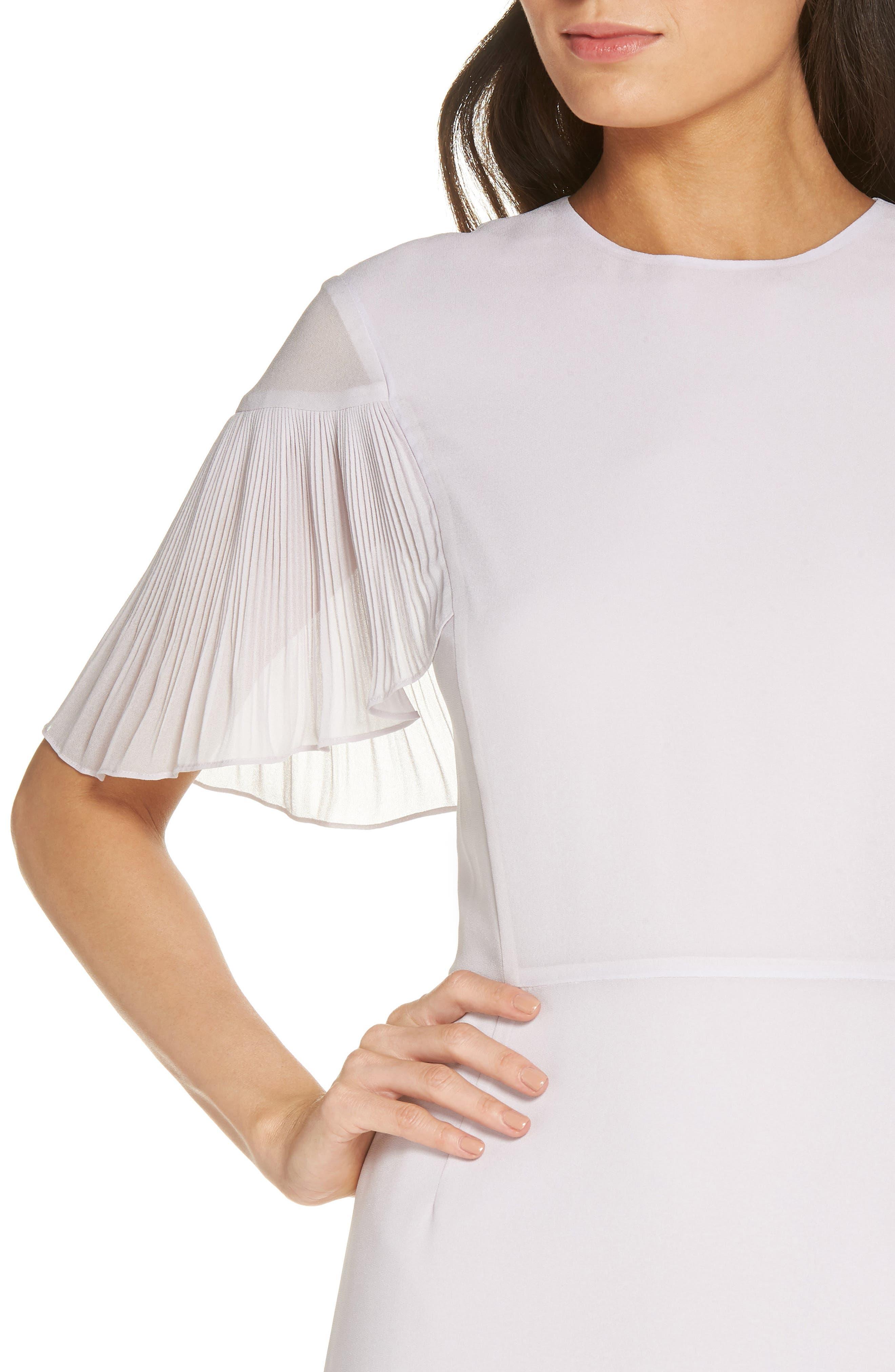 Diana Sheath Dress,                             Alternate thumbnail 4, color,                             580