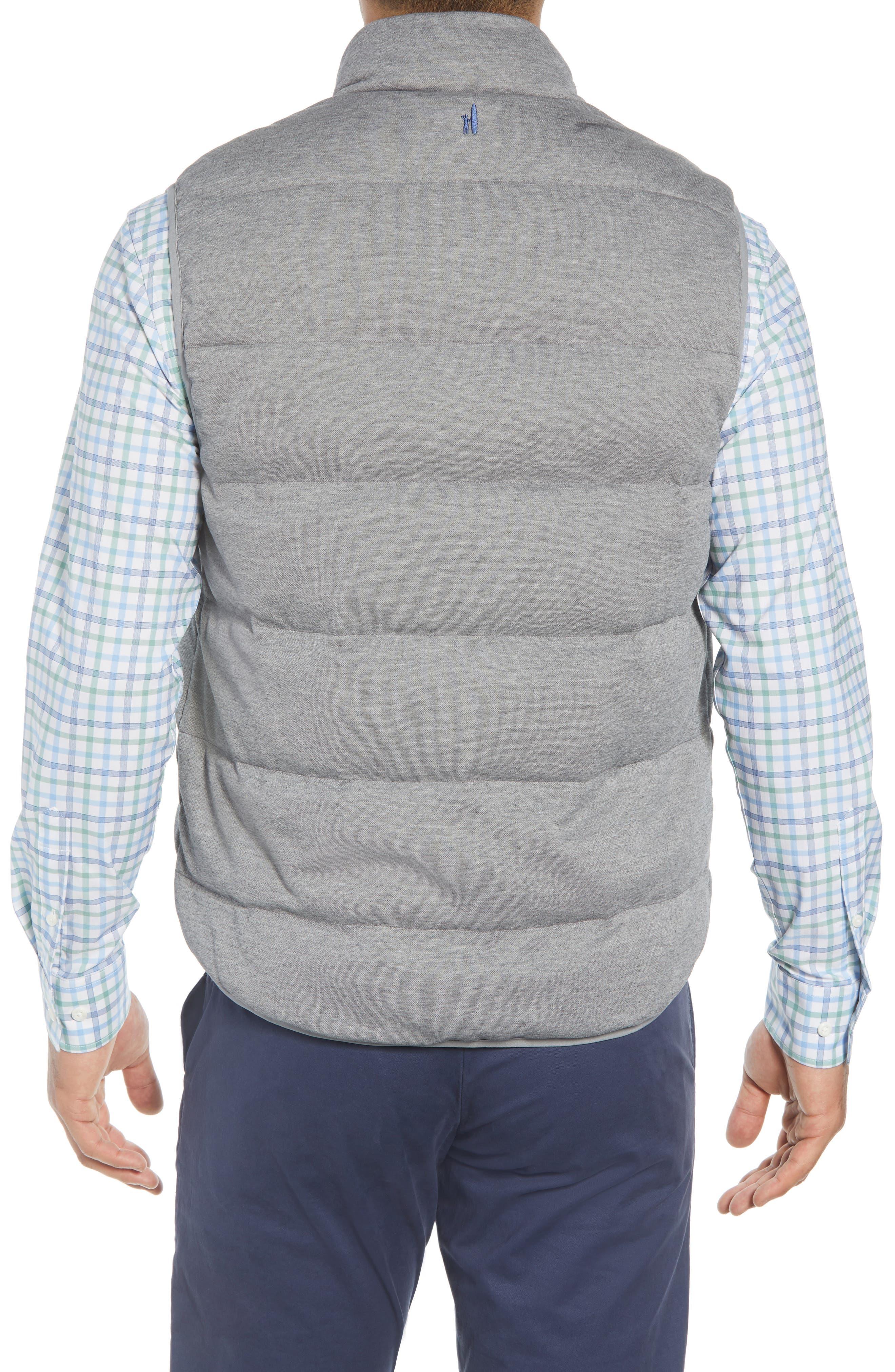 Lassiter Classic Fit Down Camper Vest,                             Alternate thumbnail 2, color,                             LIGHT GREY
