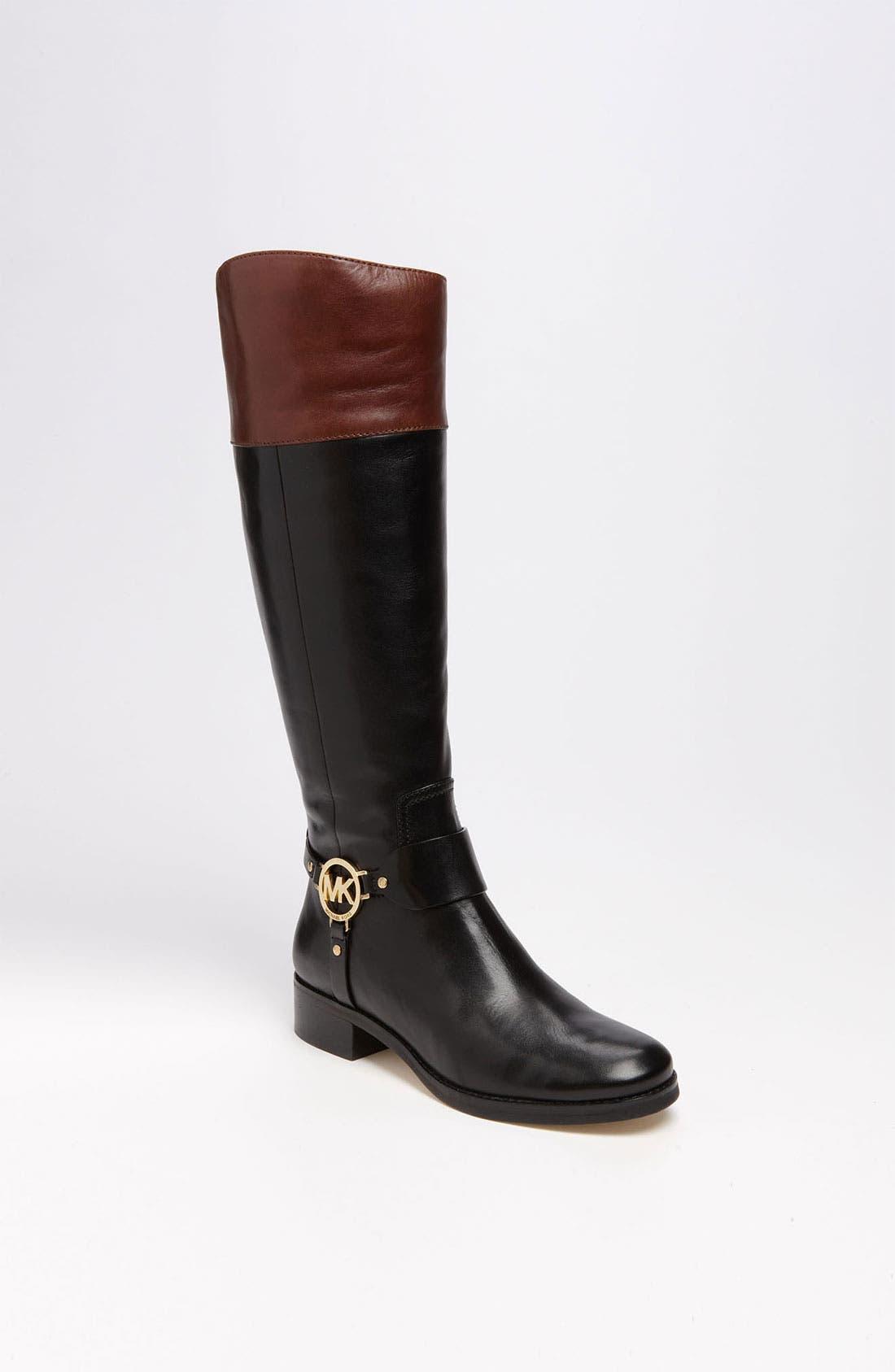 MICHAEL MICHAEL KORS 'Fulton' Harness Boot, Main, color, 014