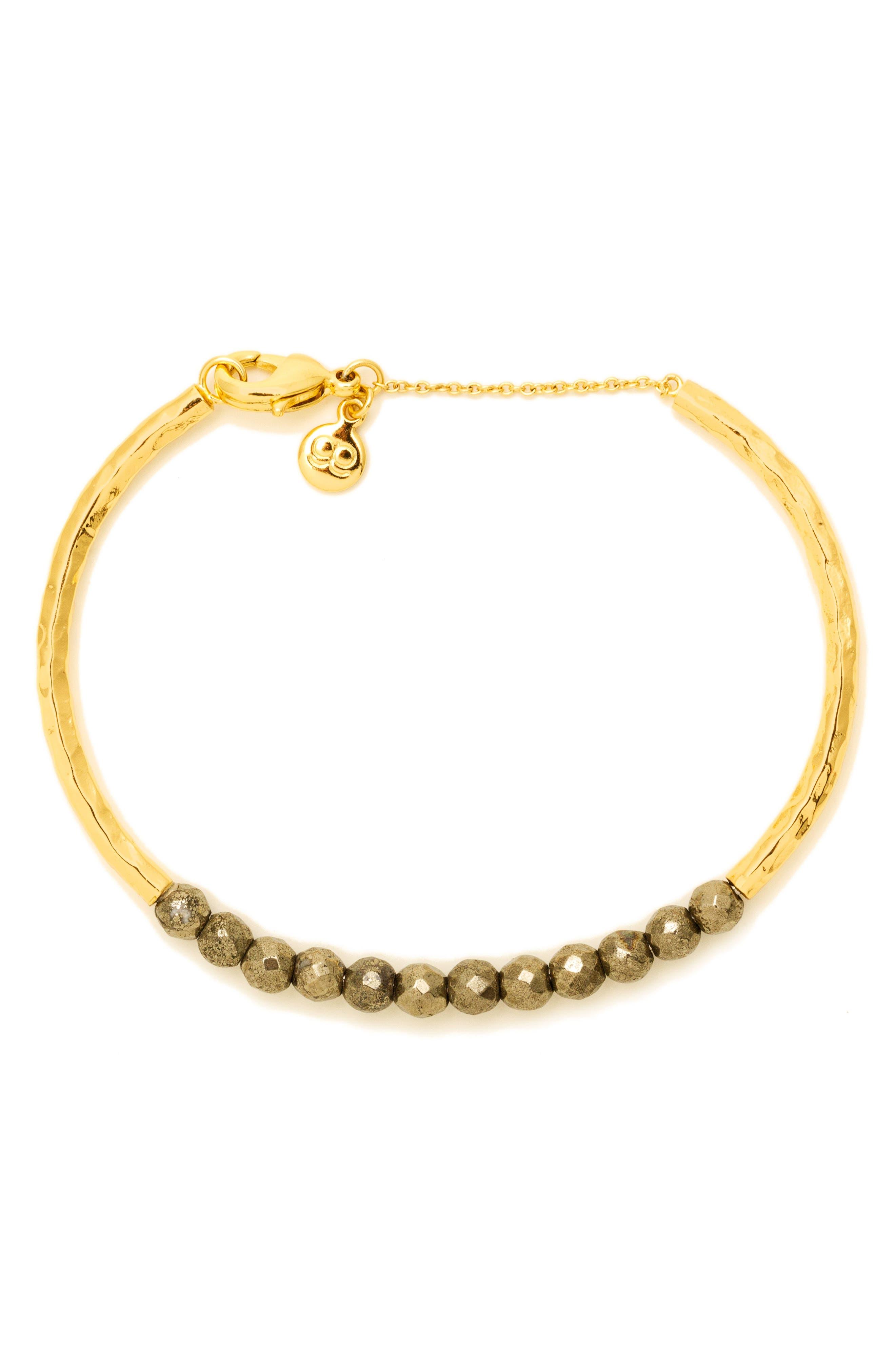 Power Stone Semiprecious Beaded Bracelet,                             Alternate thumbnail 10, color,