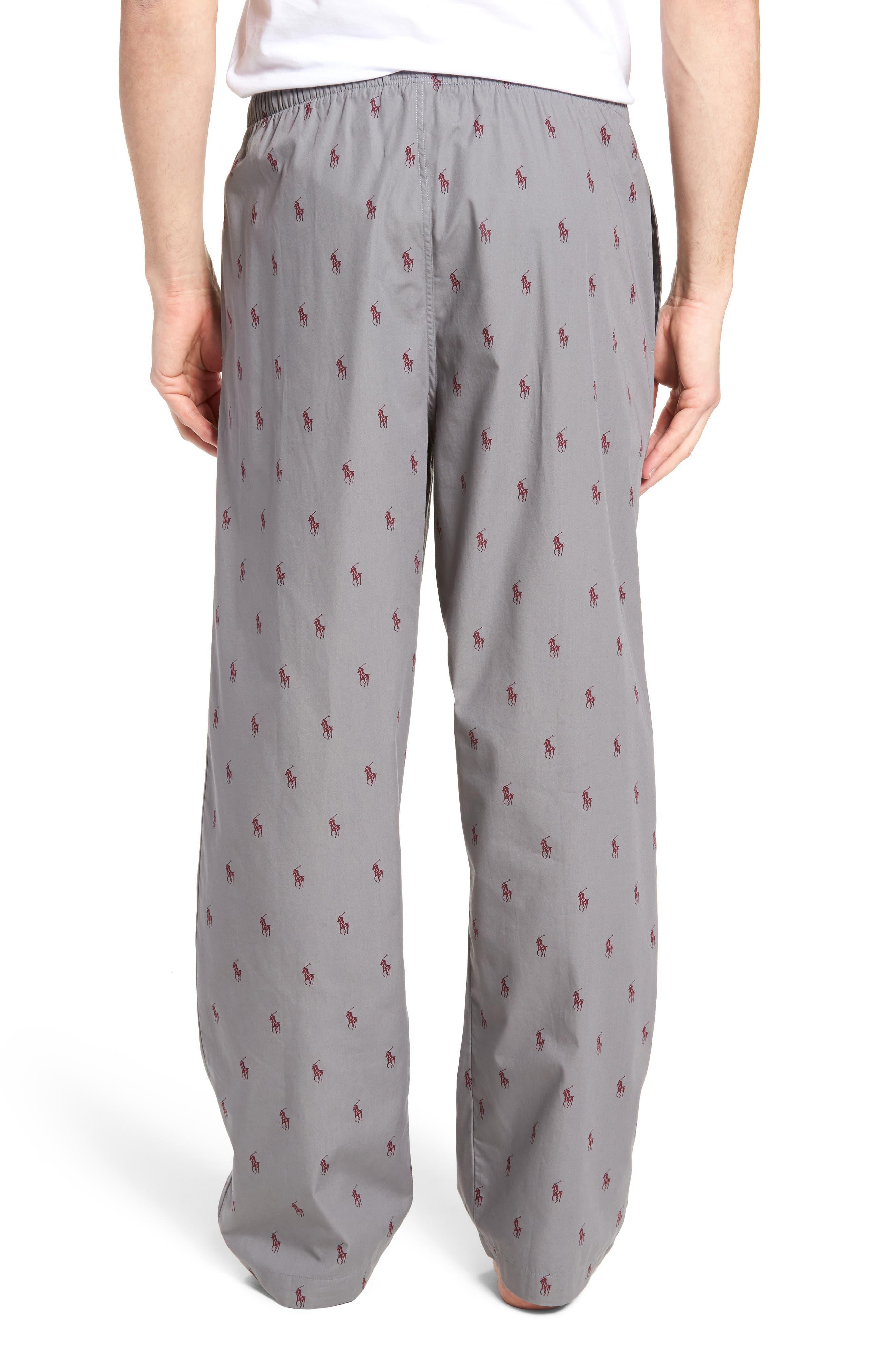 Polo Ralph Lauren Cotton Lounge Pants,                             Alternate thumbnail 6, color,