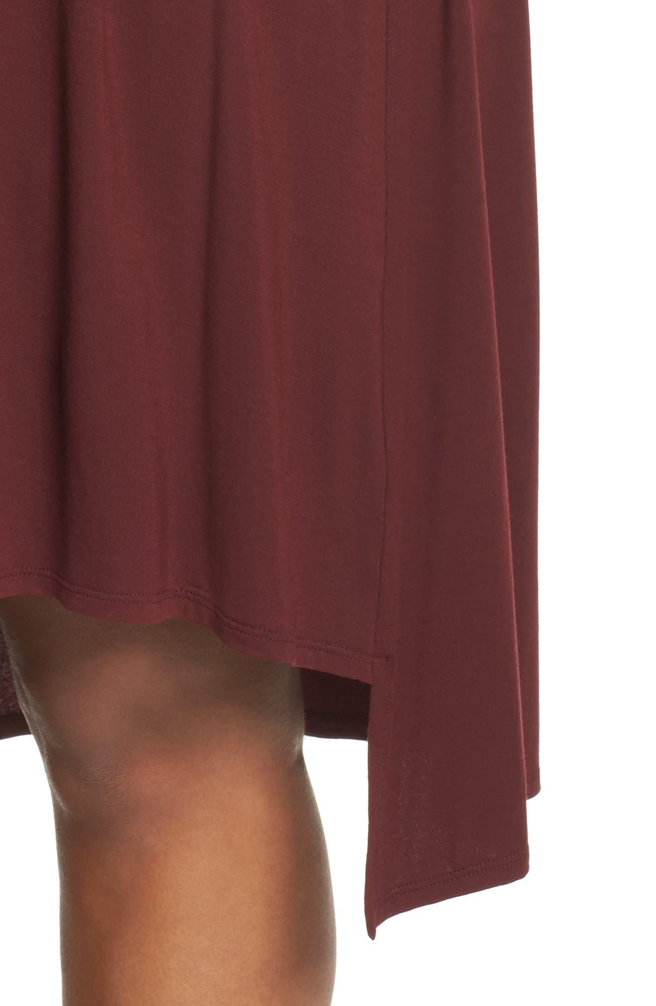 Jersey Tunic Dress,                             Alternate thumbnail 16, color,