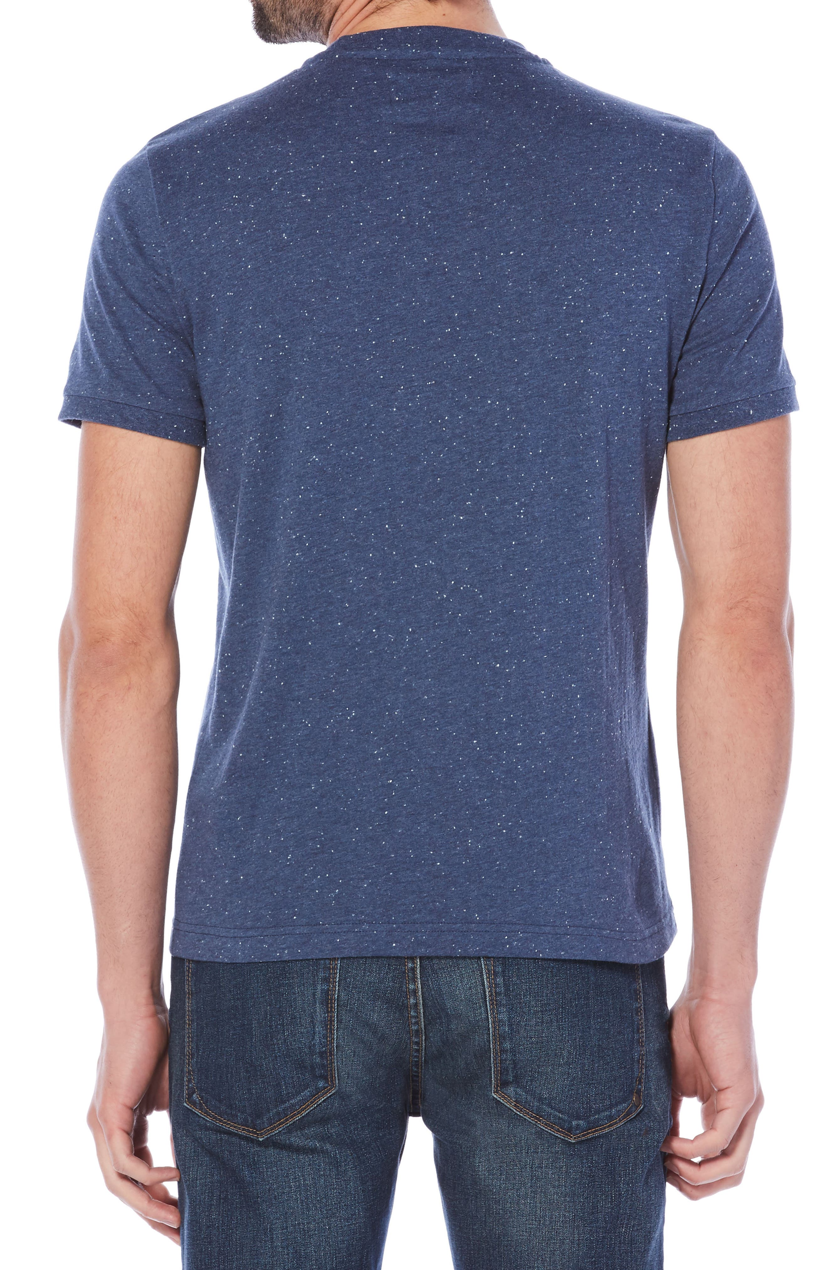 Nep Speckled T-Shirt,                             Alternate thumbnail 5, color,