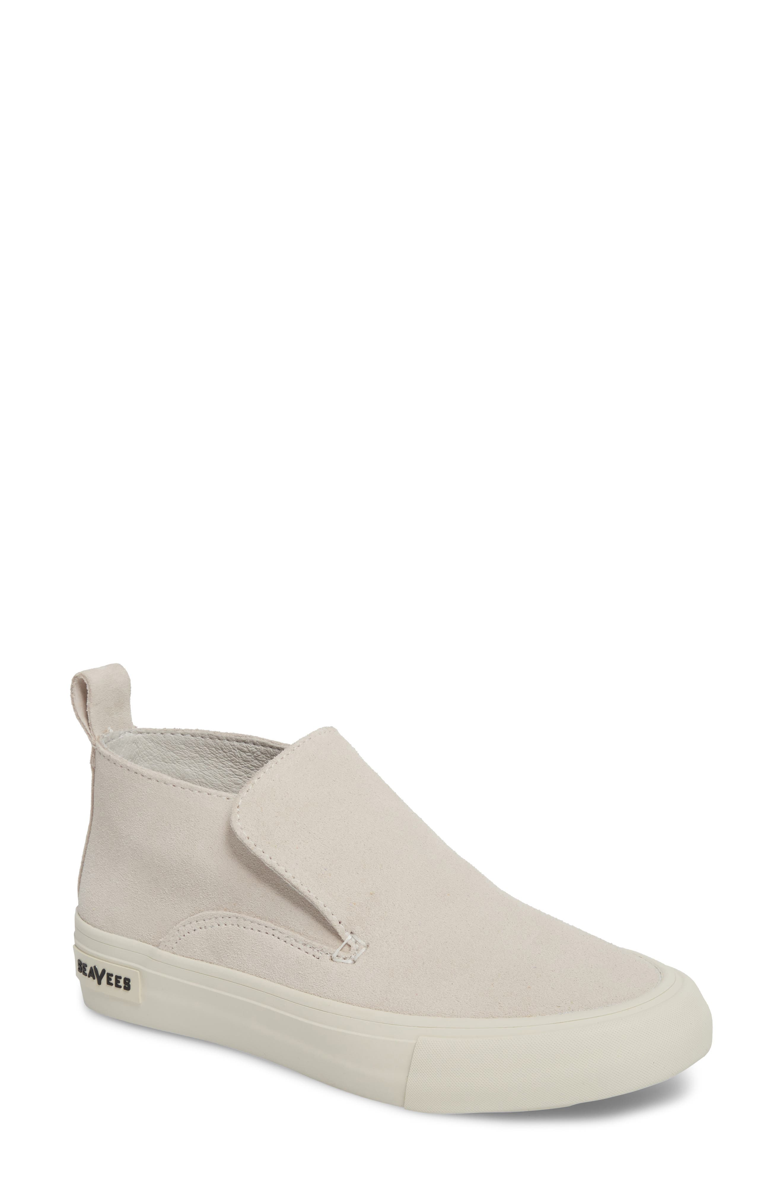 Huntington Middie Slip-On Sneaker, Main, color, OYSTER