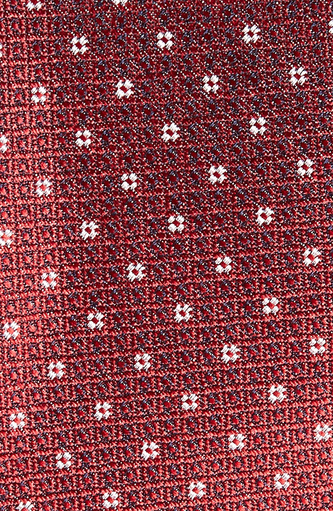 Denson Neat Silk Tie,                             Alternate thumbnail 14, color,