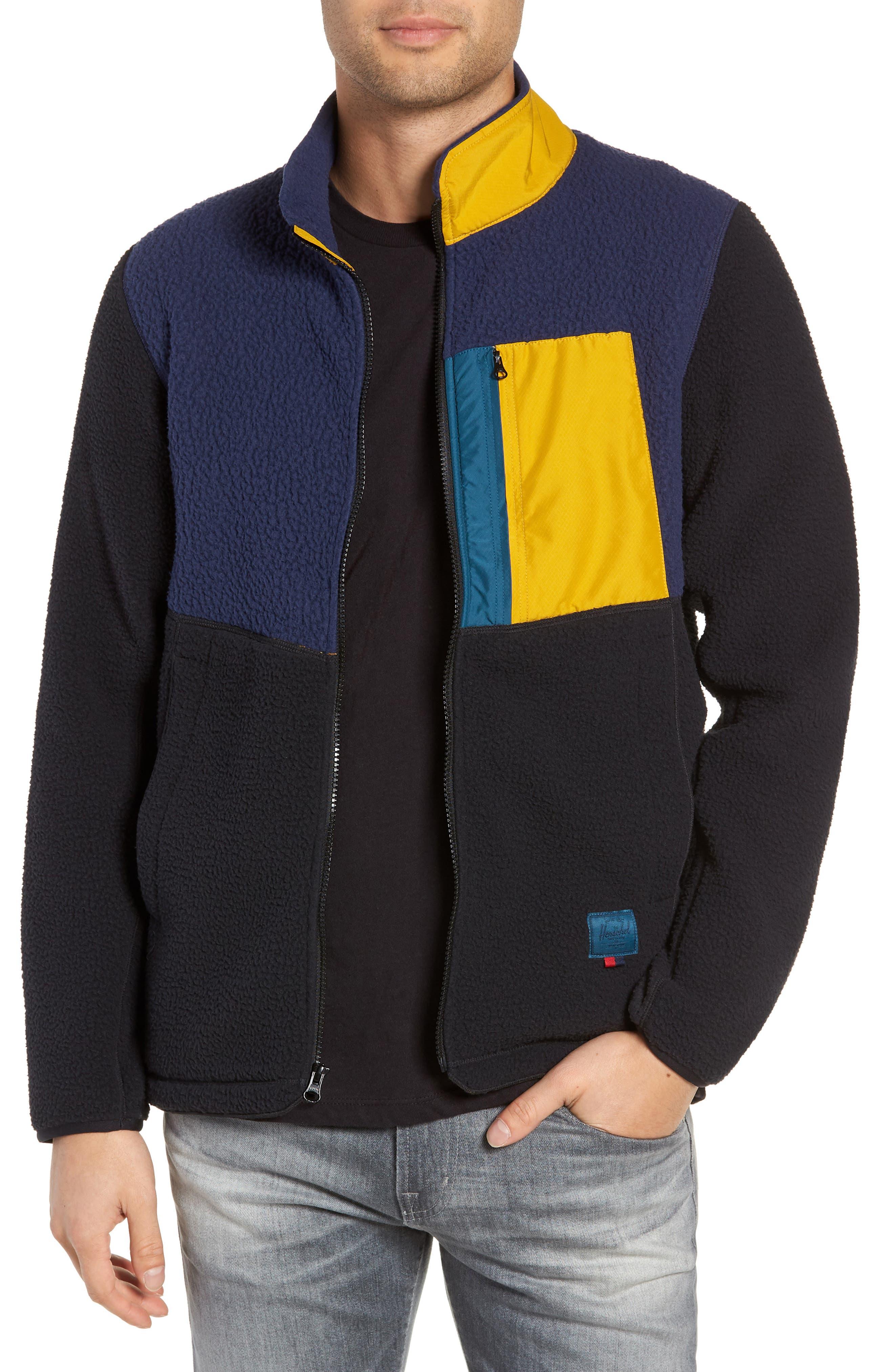 Herschel Supply Co. Tech Fleece Jacket, Blue