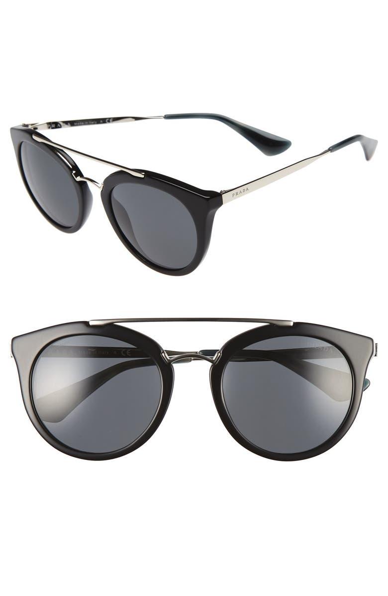 Cat Sunglasses Eye Prada Nordstrom 52mm 5SqTWwX