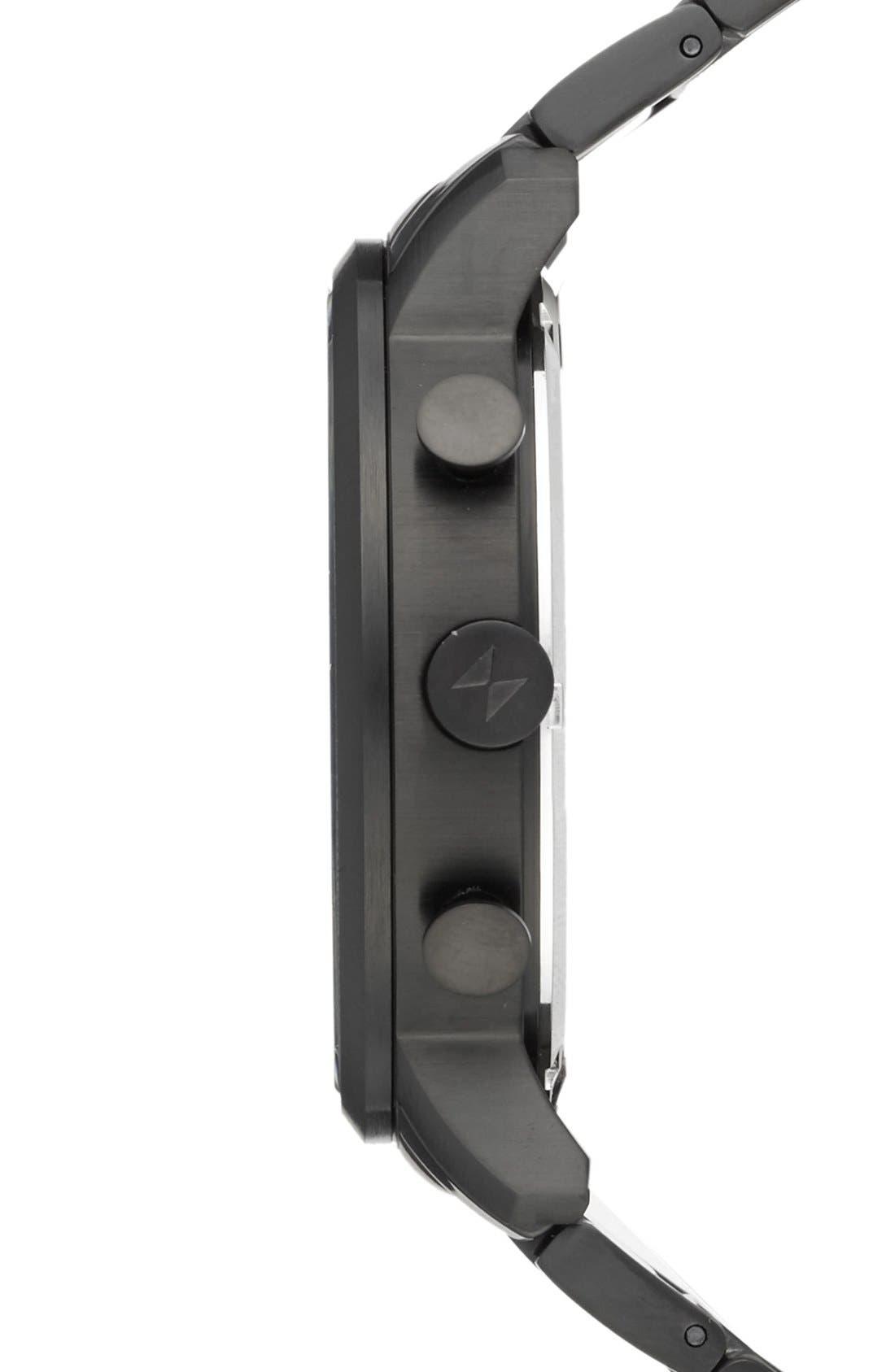 Chronograph Bracelet Watch, 40mm,                             Alternate thumbnail 3, color,                             005