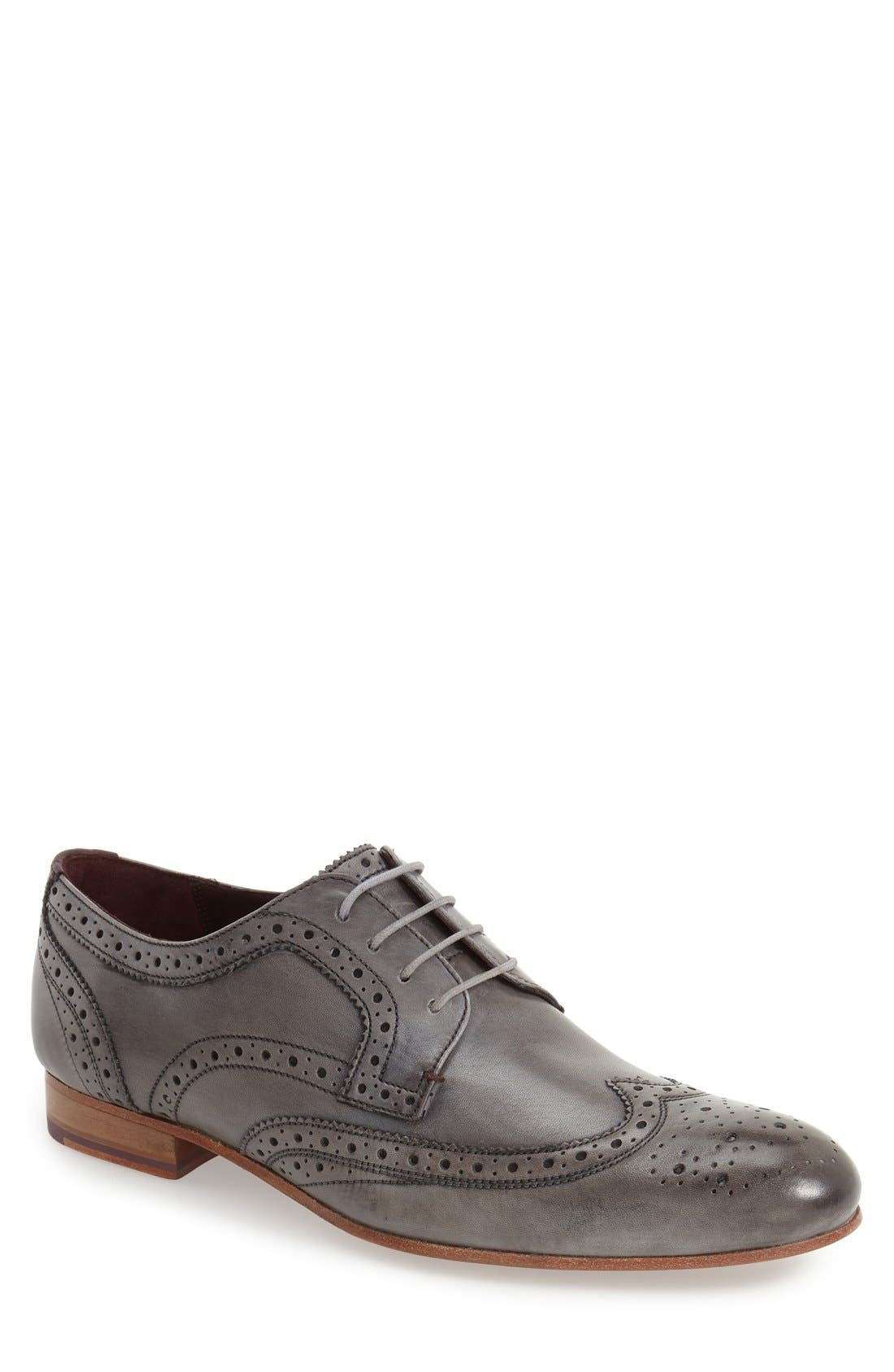 'Gryene' Wingtip Oxford,                             Main thumbnail 1, color,                             020