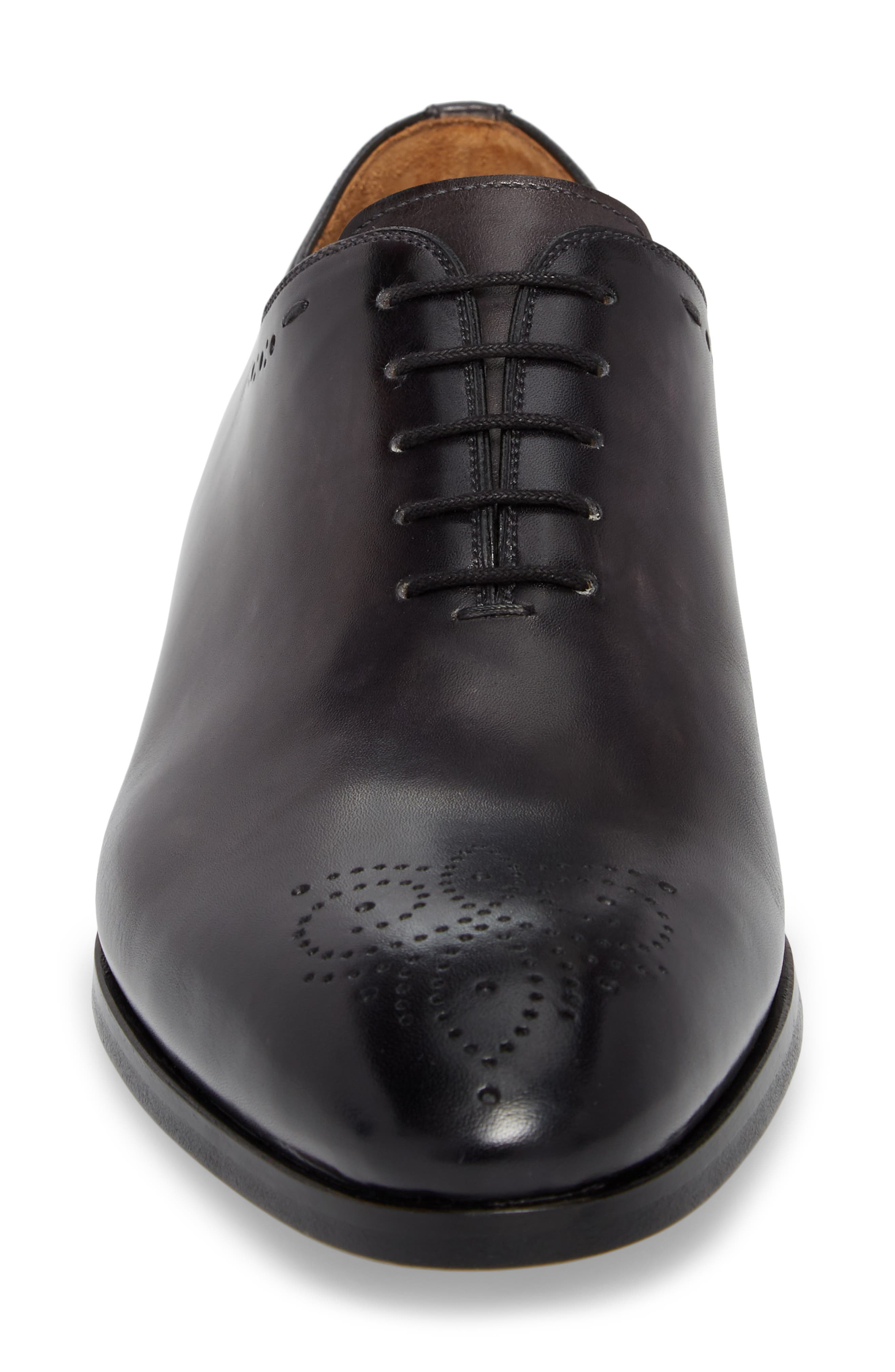 Paolo Brogued Whole Cut Shoe,                             Alternate thumbnail 4, color,                             020