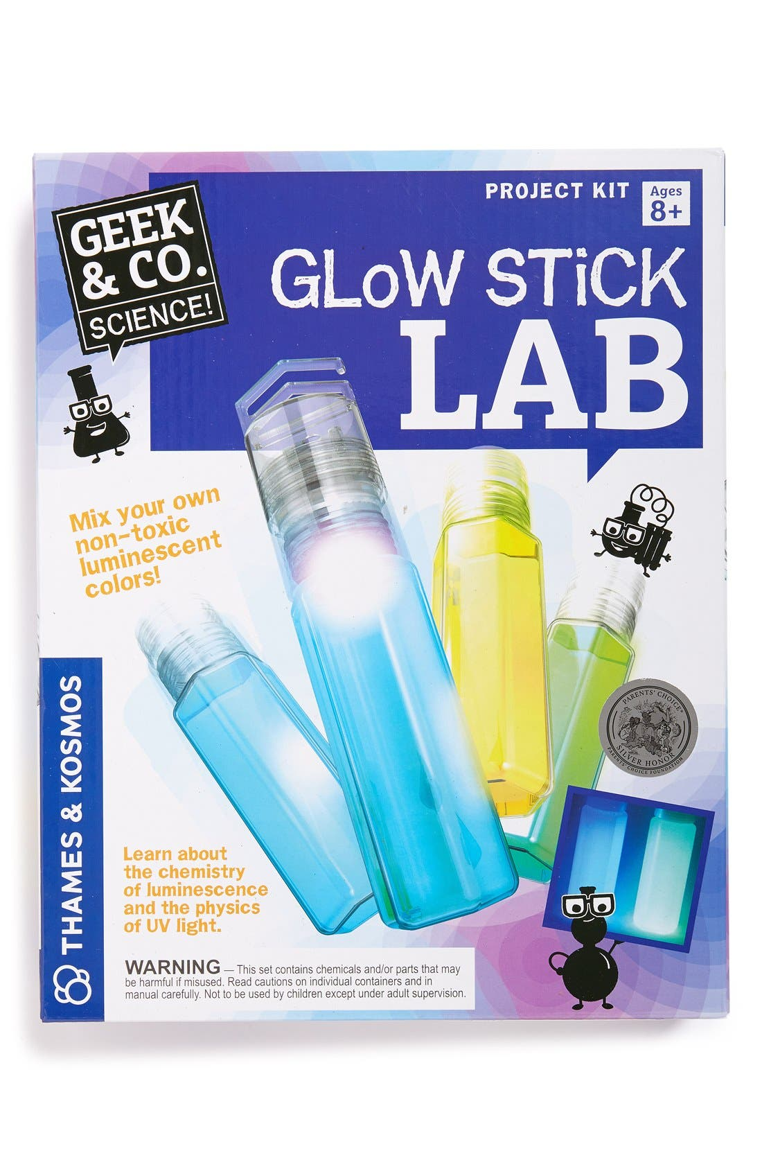 'Glow Stick Lab' Kit,                             Main thumbnail 1, color,