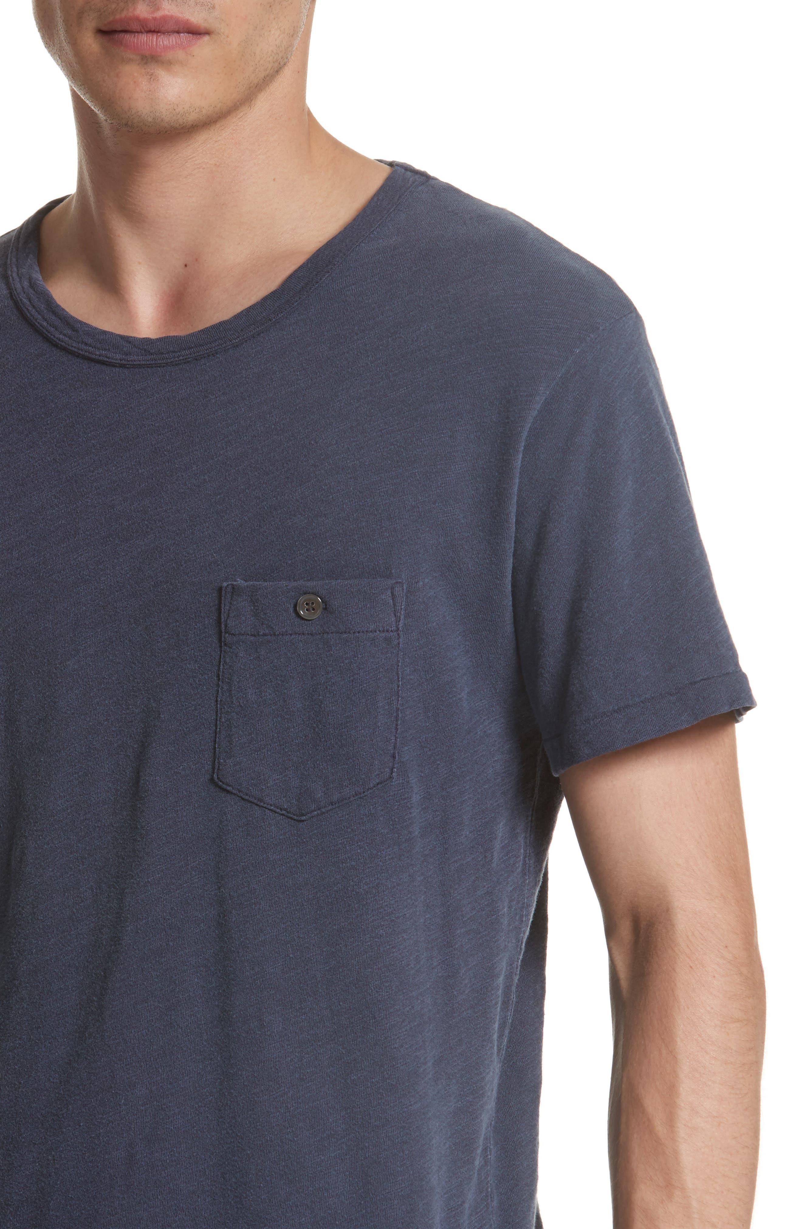 'Classic' Pocket T-Shirt,                             Alternate thumbnail 14, color,