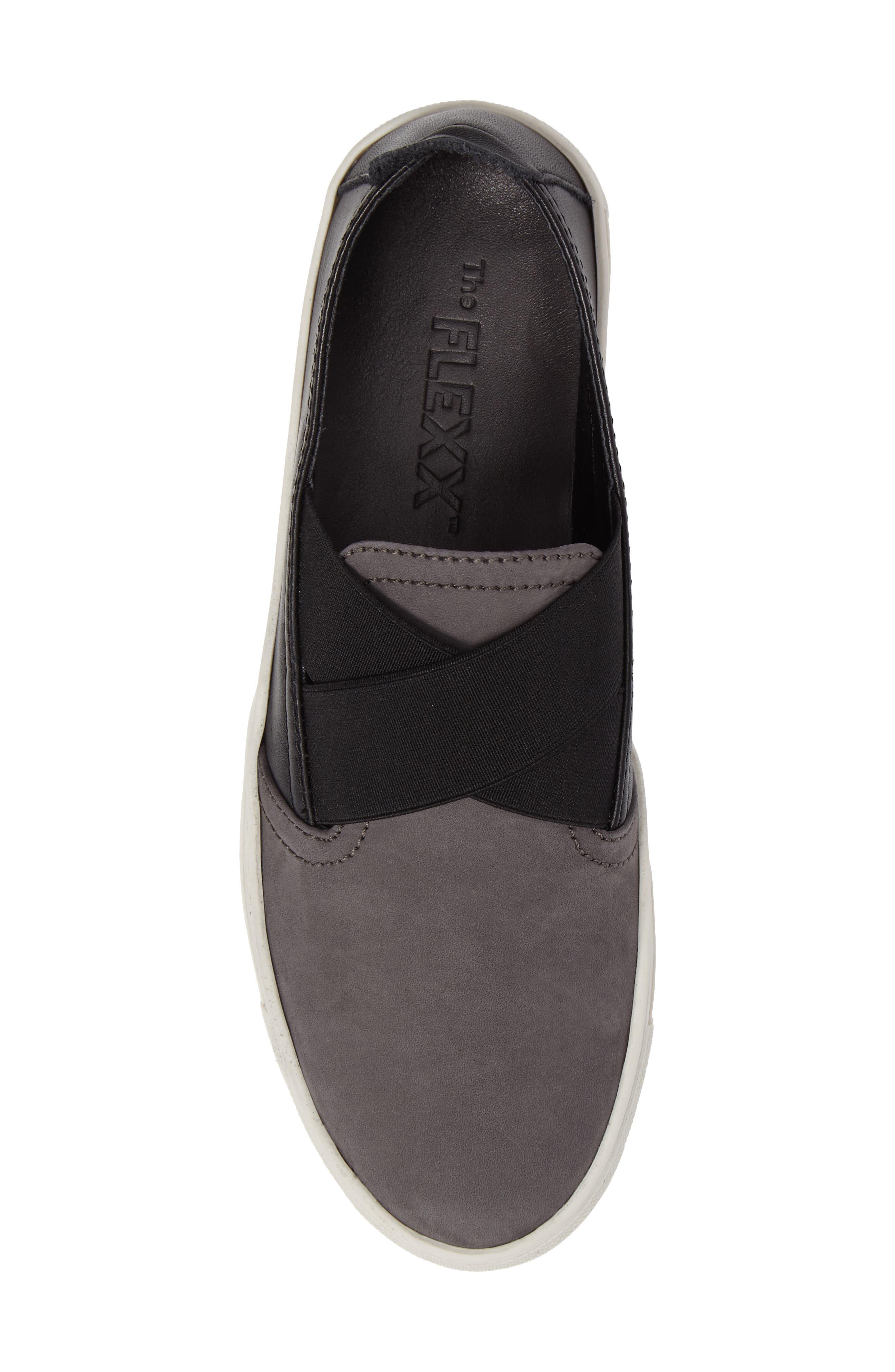 La Cross Slip-On Sneaker,                             Alternate thumbnail 5, color,                             001