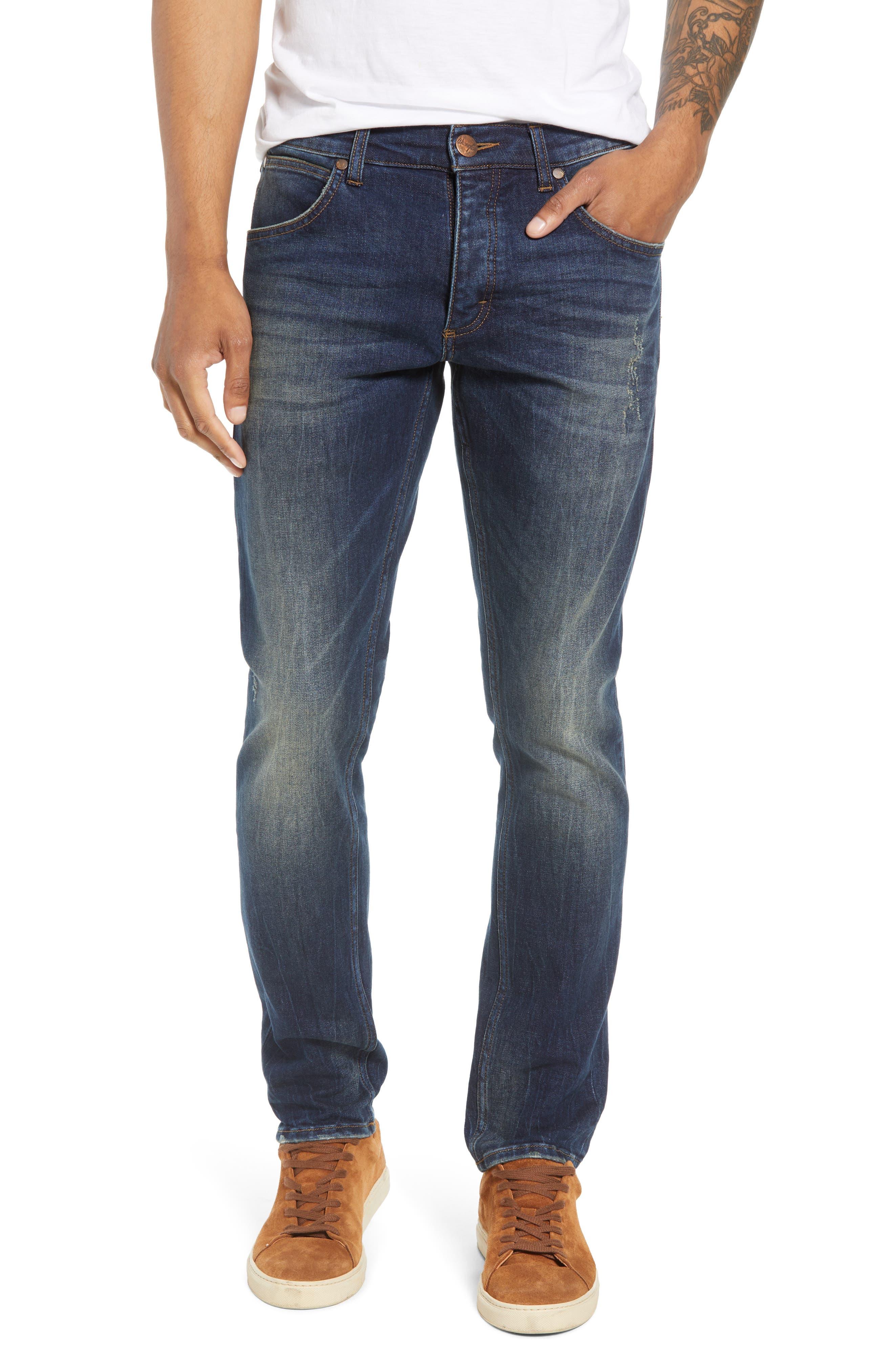 Larston Slim Fit Jeans,                         Main,                         color, VINTAGE DARK