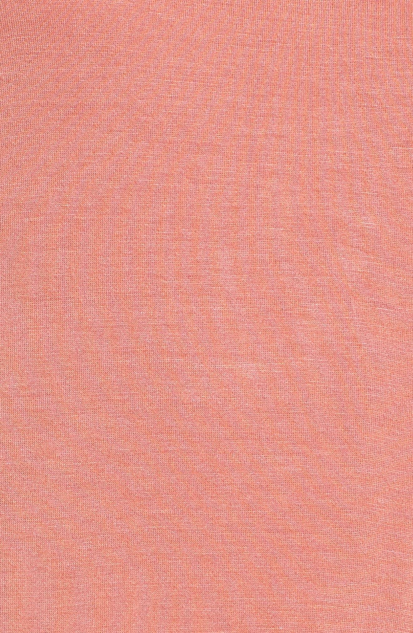Stripe Peplum Tee,                             Alternate thumbnail 23, color,
