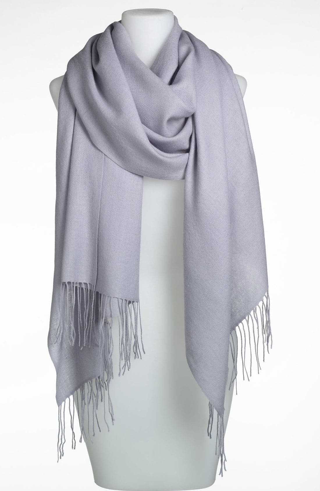 Tissue Weight Wool & Cashmere Wrap,                             Main thumbnail 11, color,