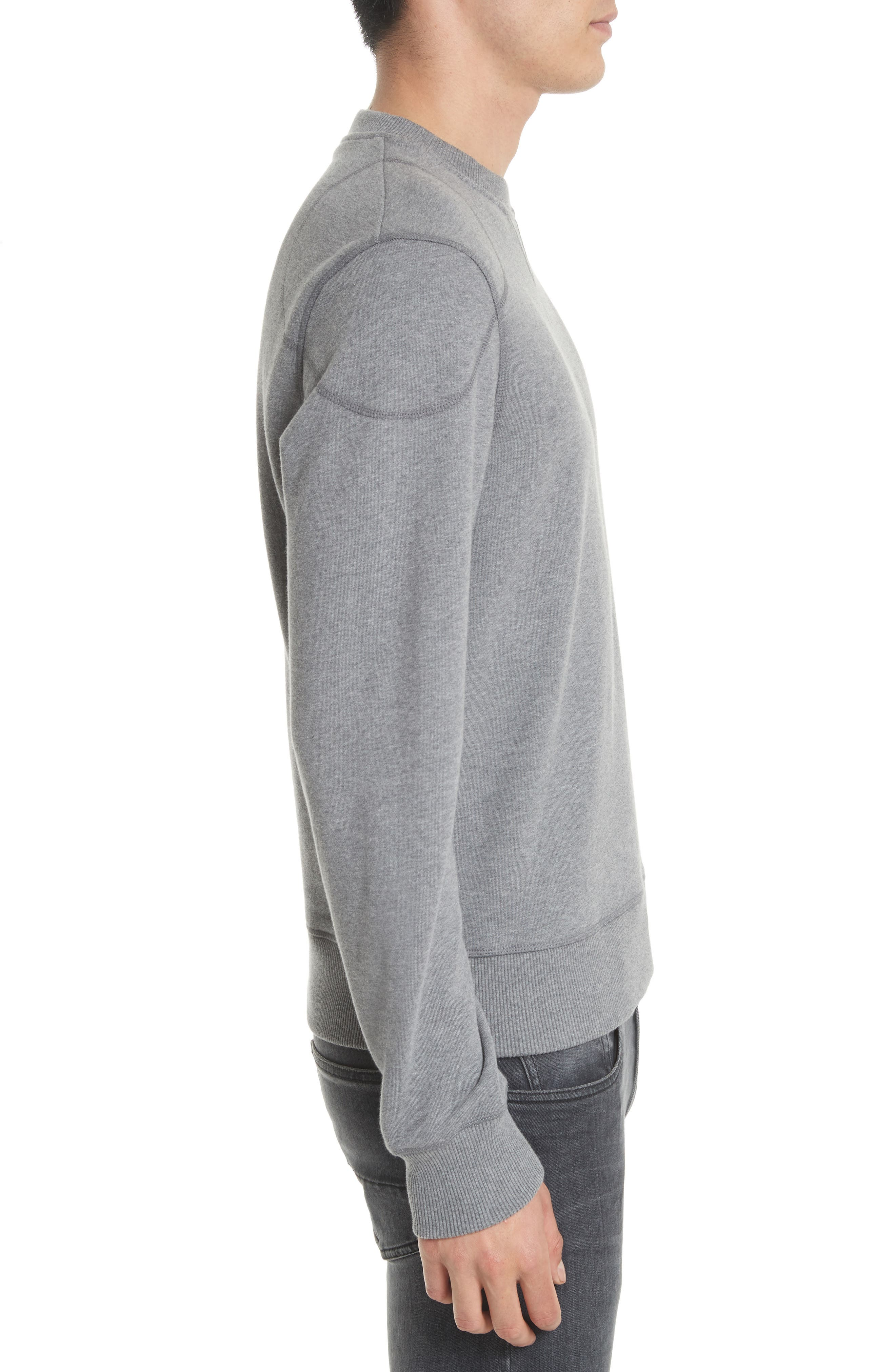 Jefferson Fleece Sweatshirt,                             Alternate thumbnail 3, color,                             020