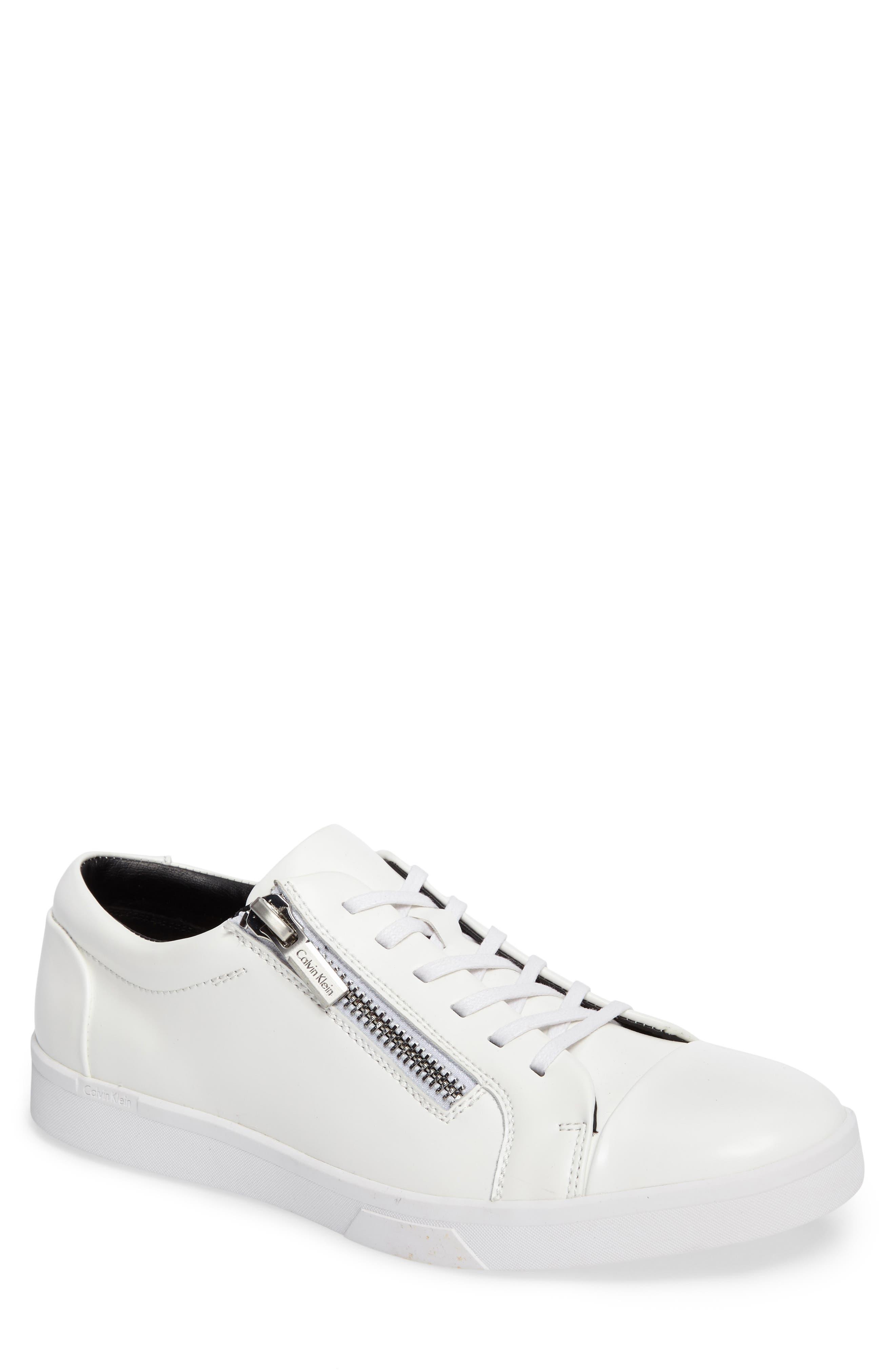 Ibrahim Cap-Toe Zip Sneaker,                             Main thumbnail 2, color,
