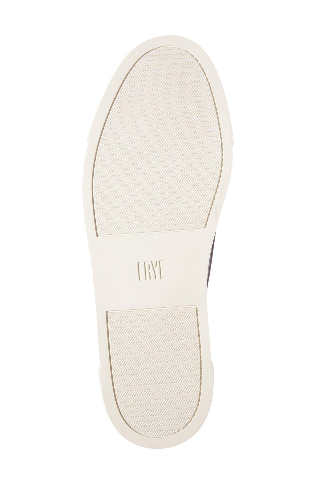 'Gemma' Kiltie Slip On-Sneaker,                             Alternate thumbnail 5, color,                             001