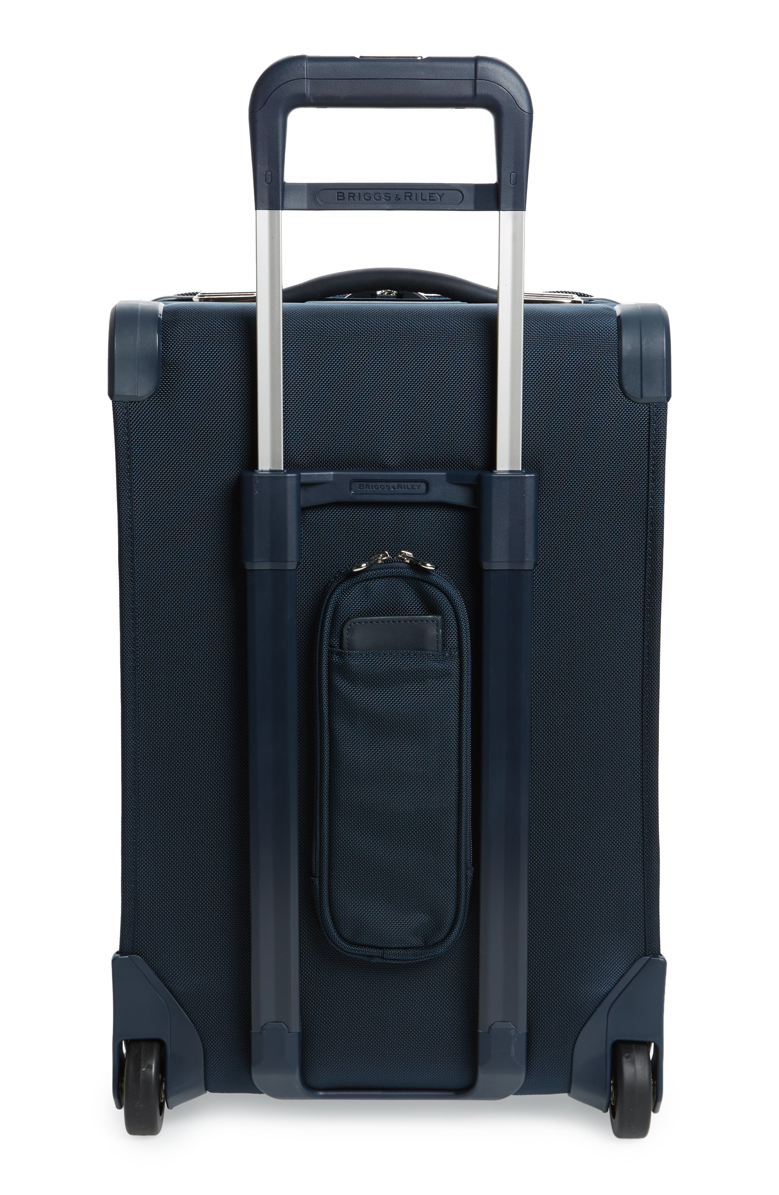 Baseline 22-Inch Wheeled Domestic Carry-On,                             Alternate thumbnail 4, color,                             NAVY